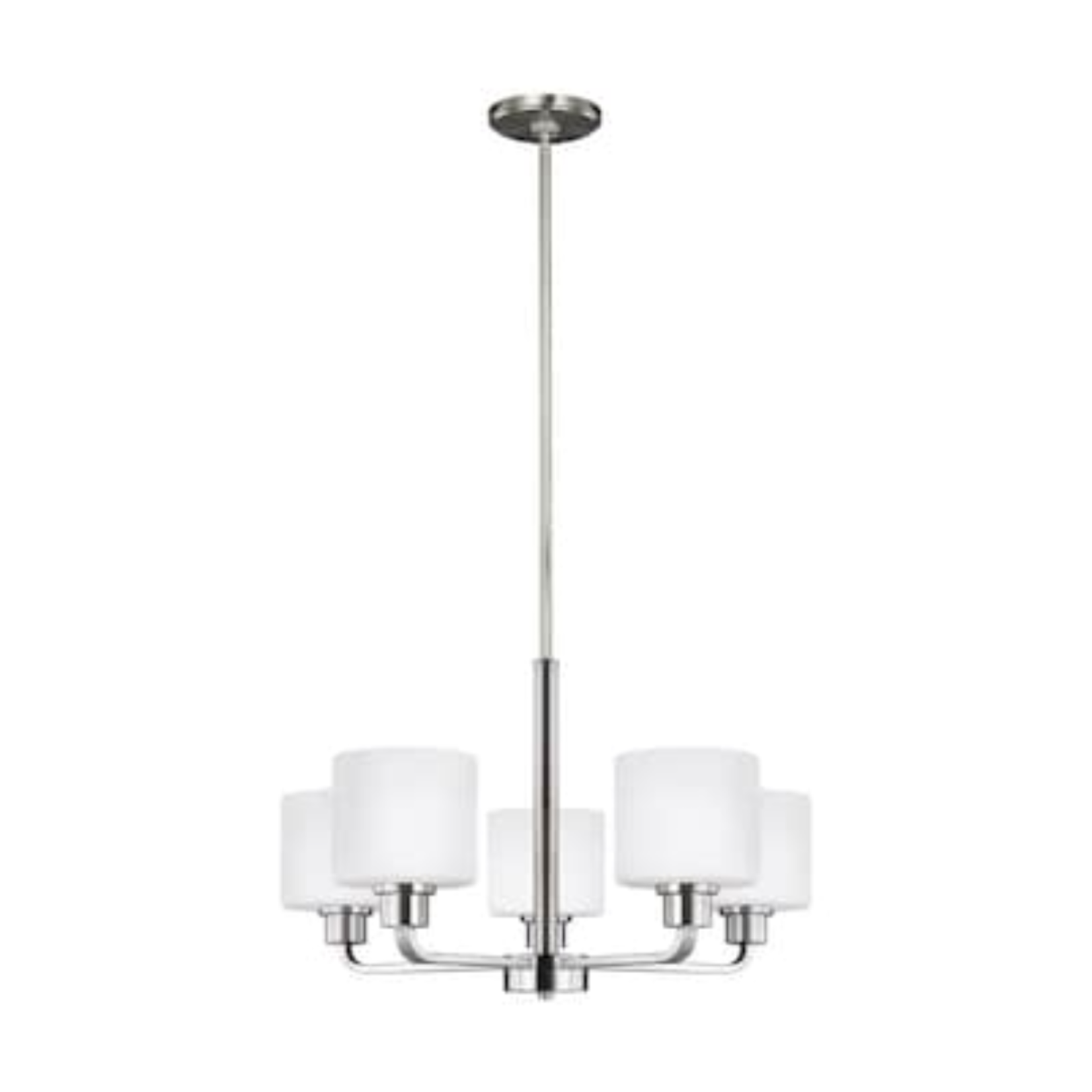 10515 Sea Gull Canfield 5-Light Brushed Nickel Chandelier