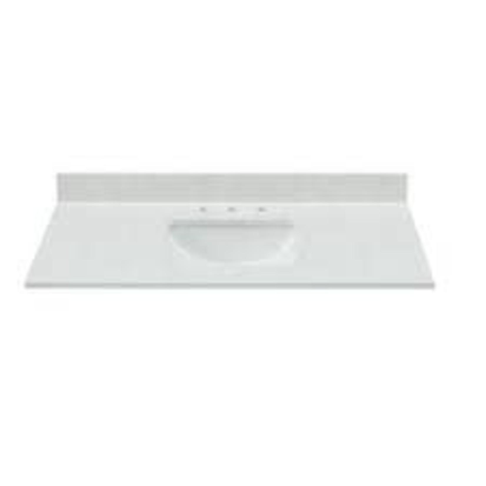 10545 Bestview Vanity Top White Quartz