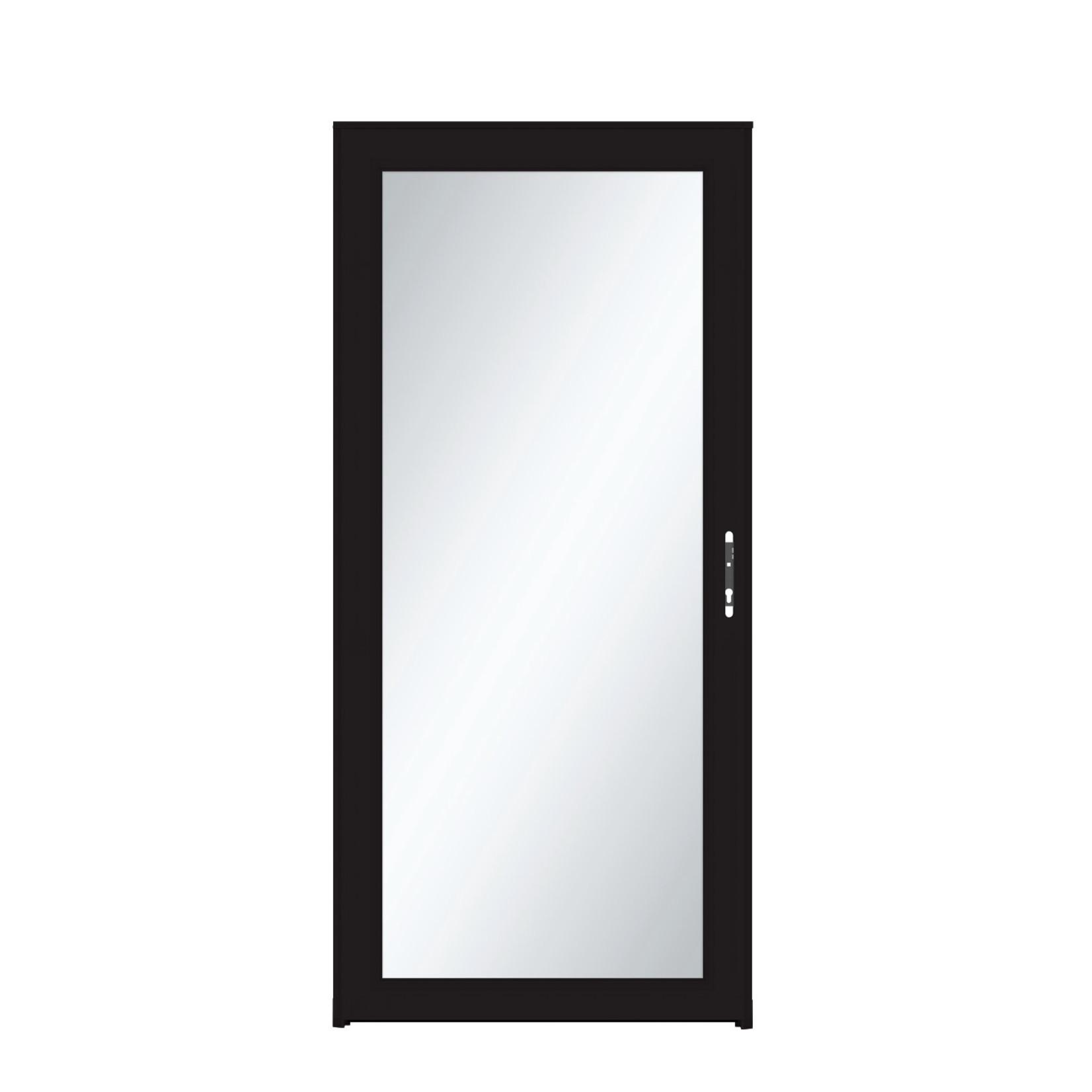 10553 Larson Black Full View Storm Door