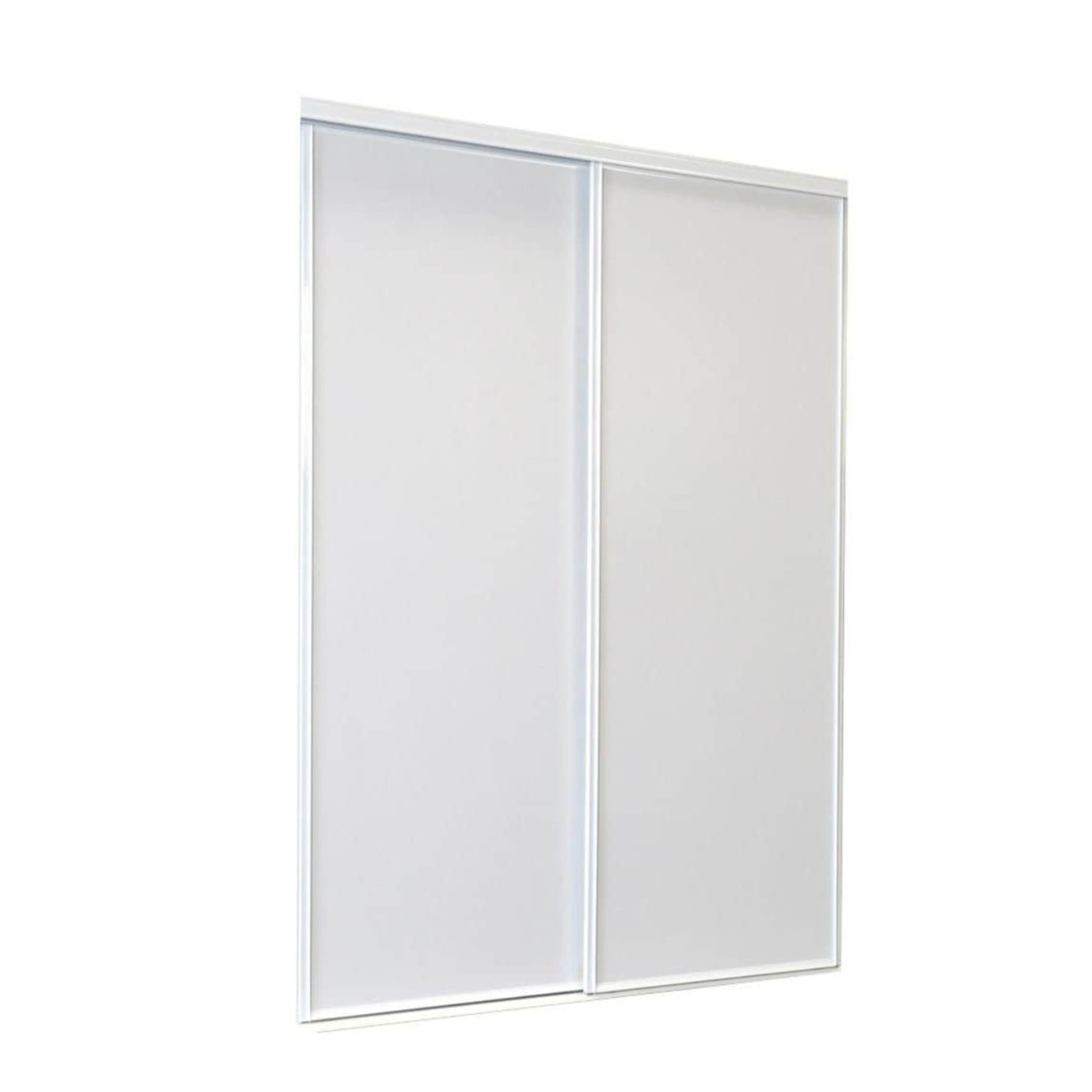10558 White Flush Sliding Closet Door