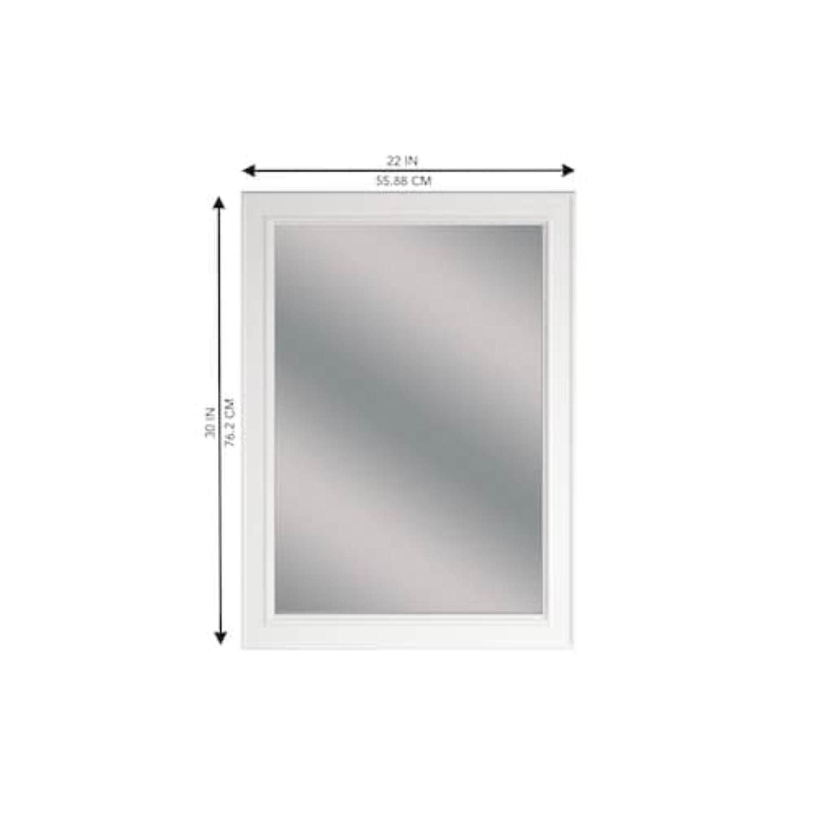 10584 Wrightsville 22-in Bathroom Mirror