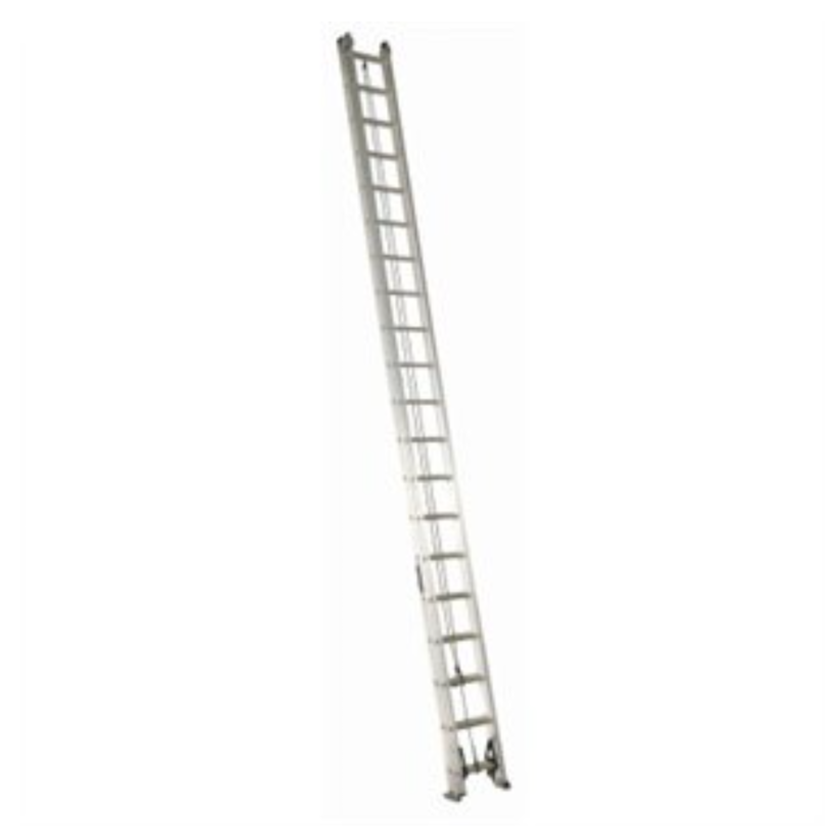 10587 Lightly Used Aluminum 40-ft Extension Ladder