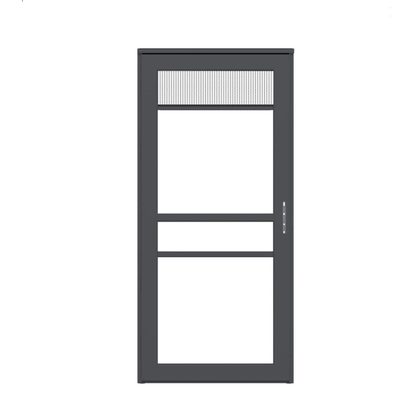 10591 Platinum RS Graphite Storm Door