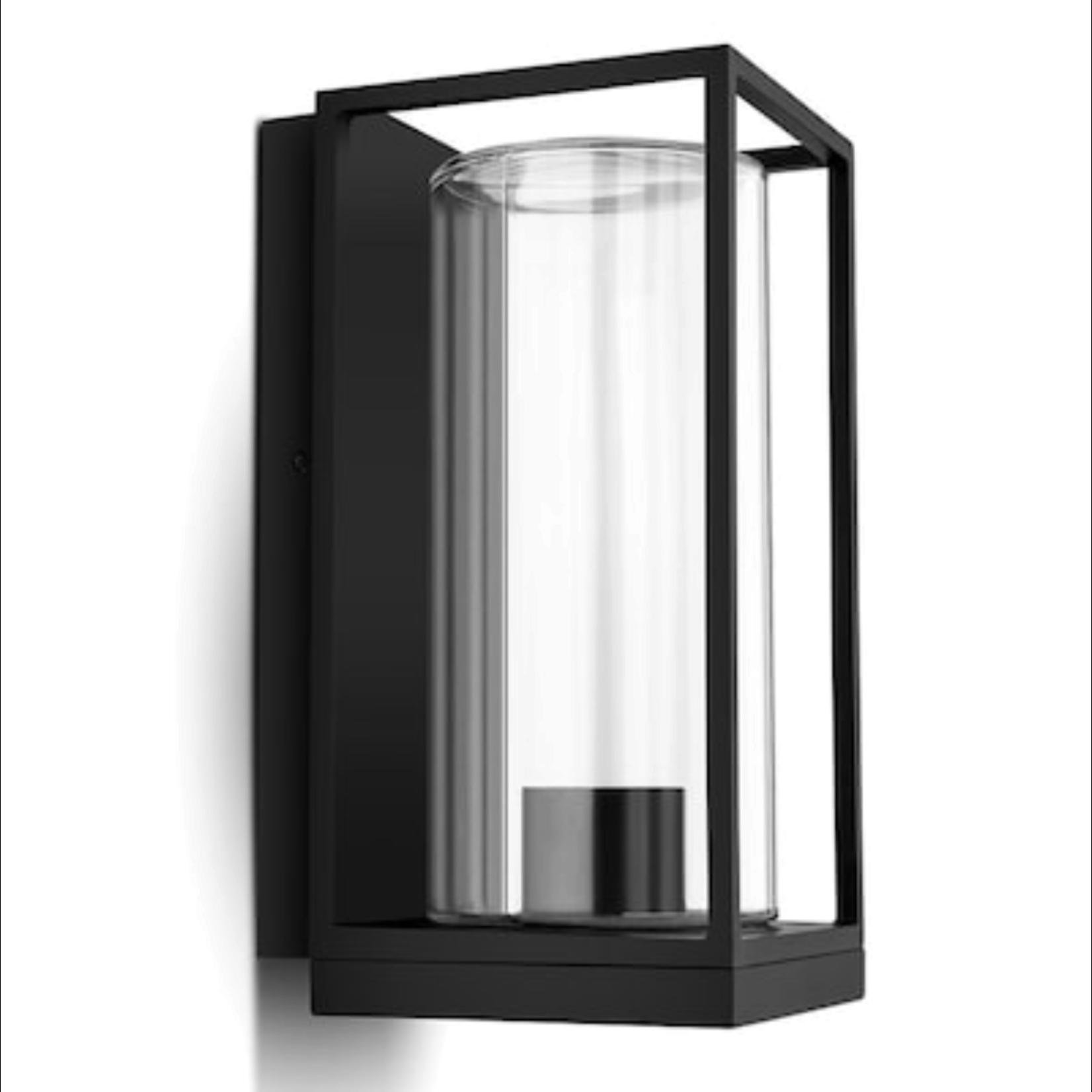 10606 Lutec Black Outdoor Flair Light