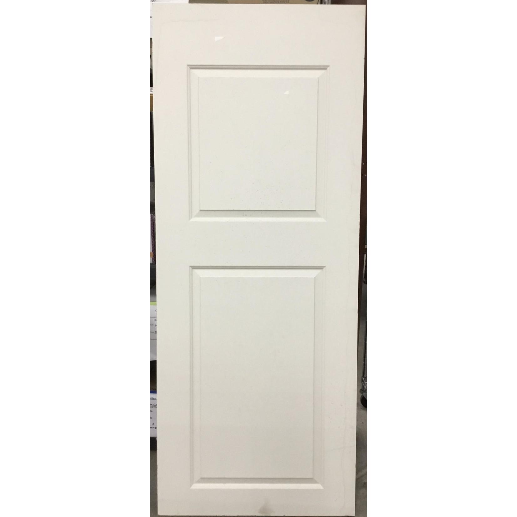 10616 Used 2 panel square top interior door slab