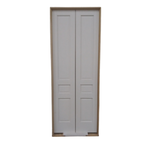 10642 Pre-Hung 3-Panel French Entry Doors