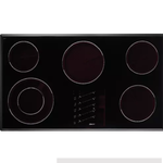 10765 Dacor 36-in Black Electric Cooktop