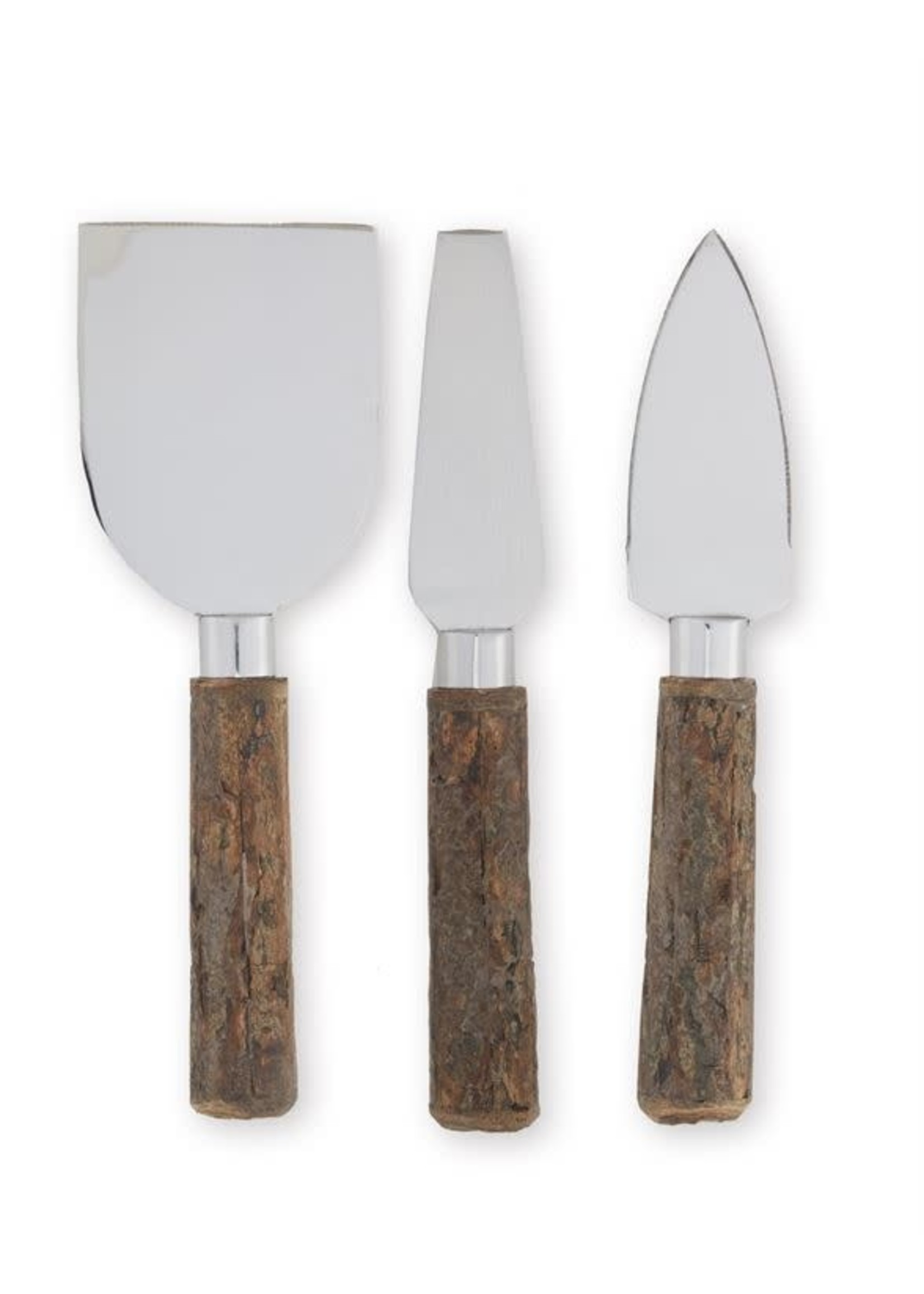 BARK EDGE CHEESE KNIVES