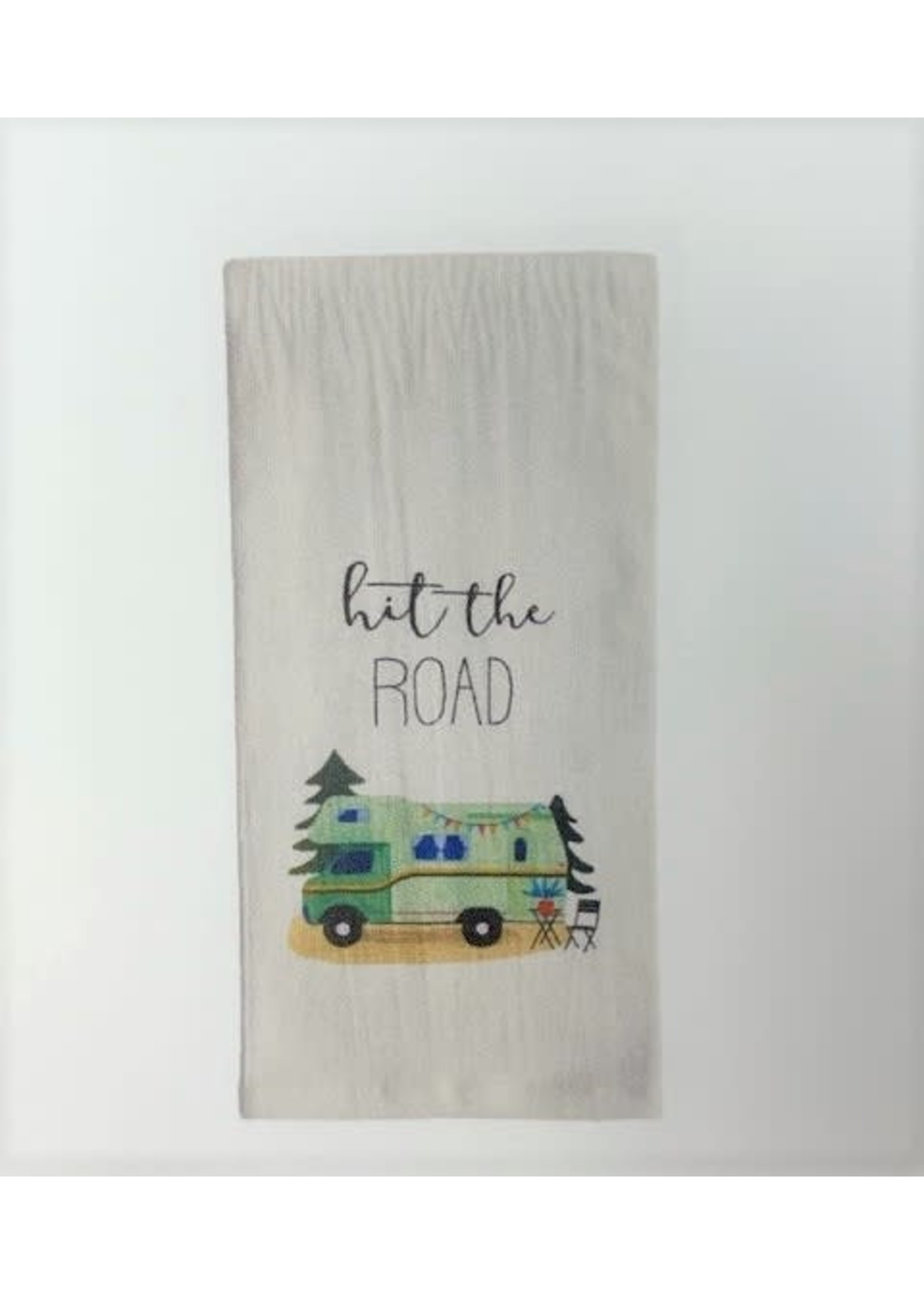 HIT THE ROAD HAND TOWEL