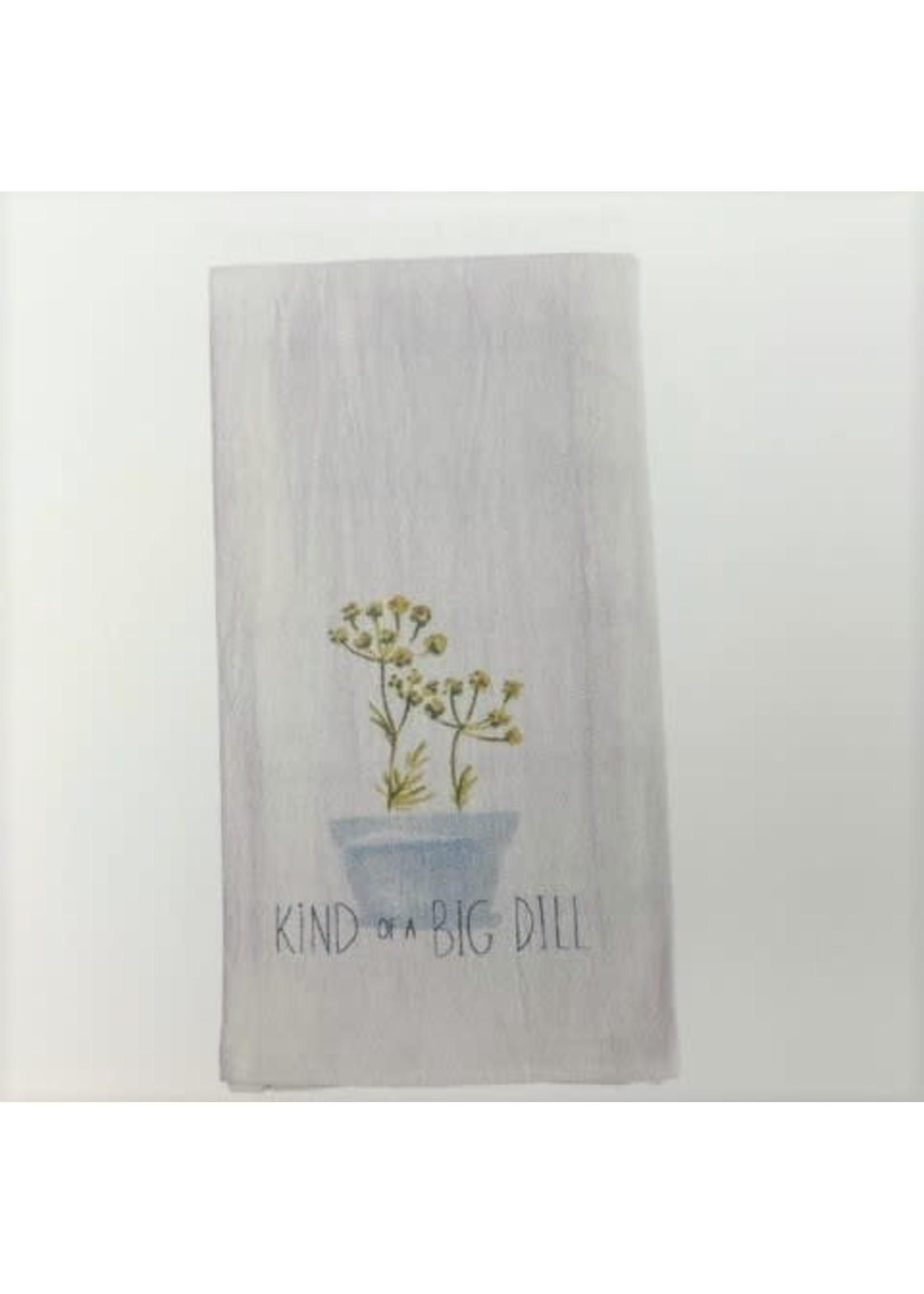 KIND OF A BIG DILL HAND TOWEL