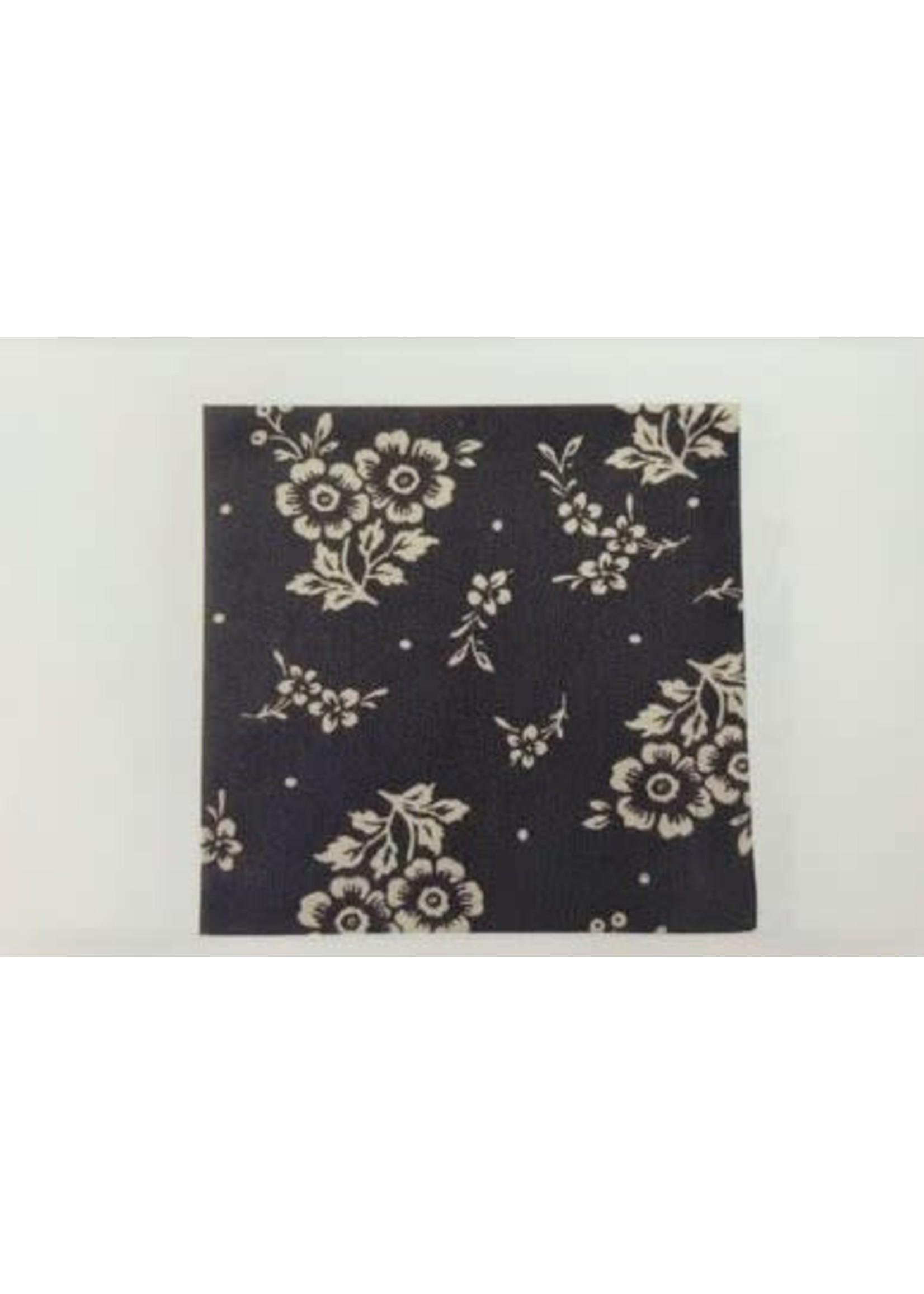 MAYFLOWER BLACK HAND TOWEL