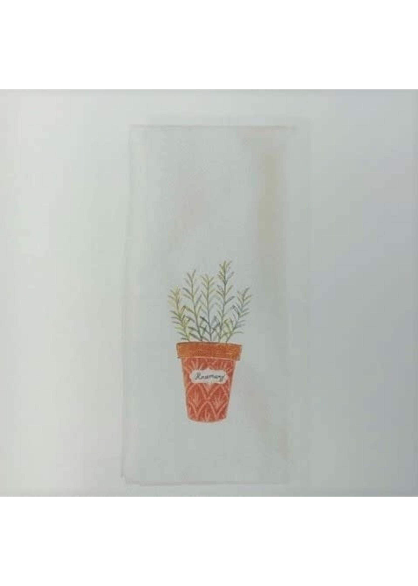 ROSEMARY HERB GARDEN DISH TOWEL