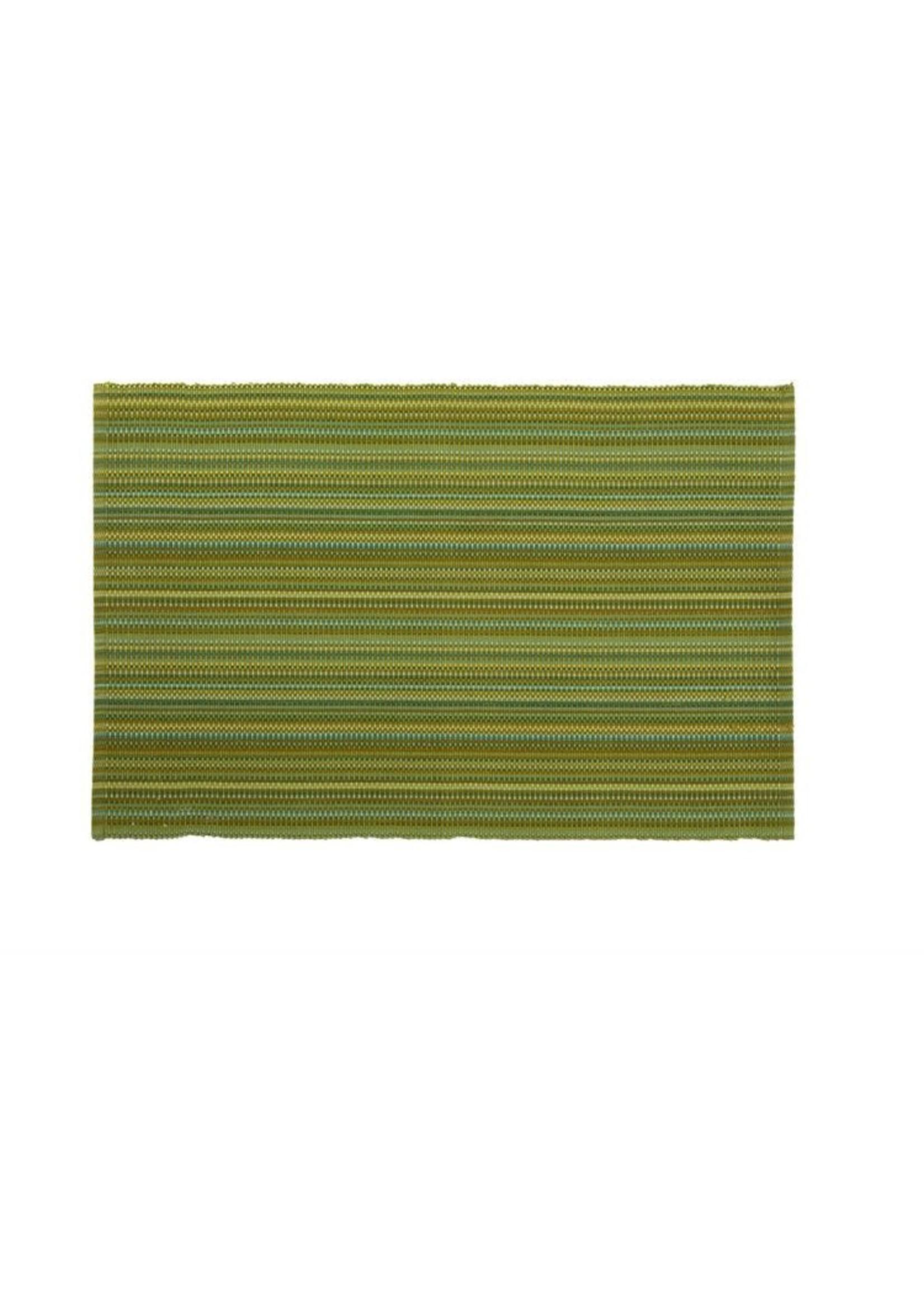 GREEN STRIPE PLACEMAT