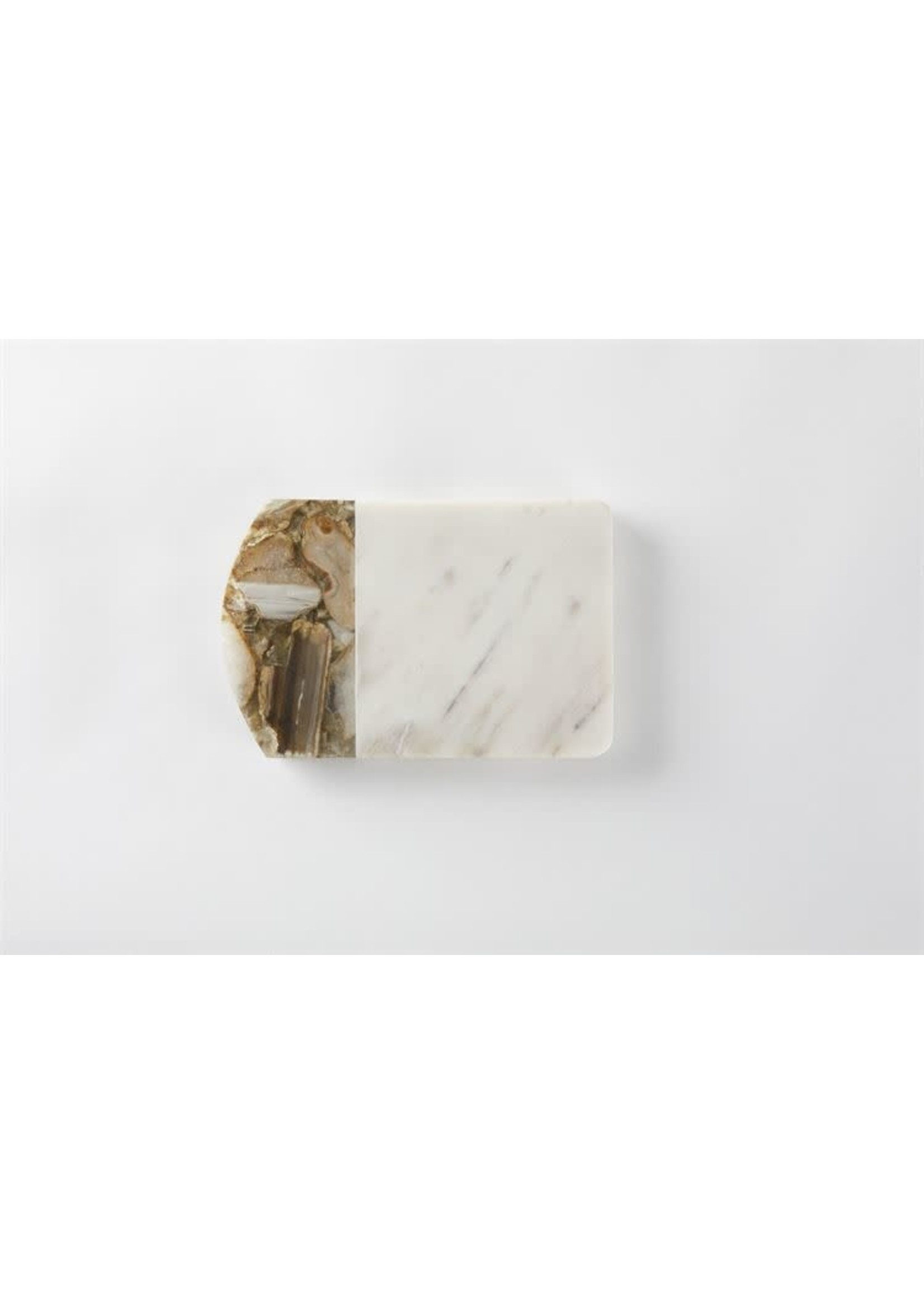 SMALL MARBLE & AGATE SERVING BOARD