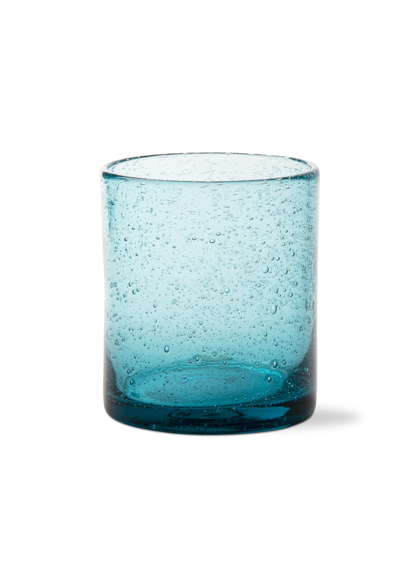 BUBBLE GLASS DBL OLD FASHIONED GLASS