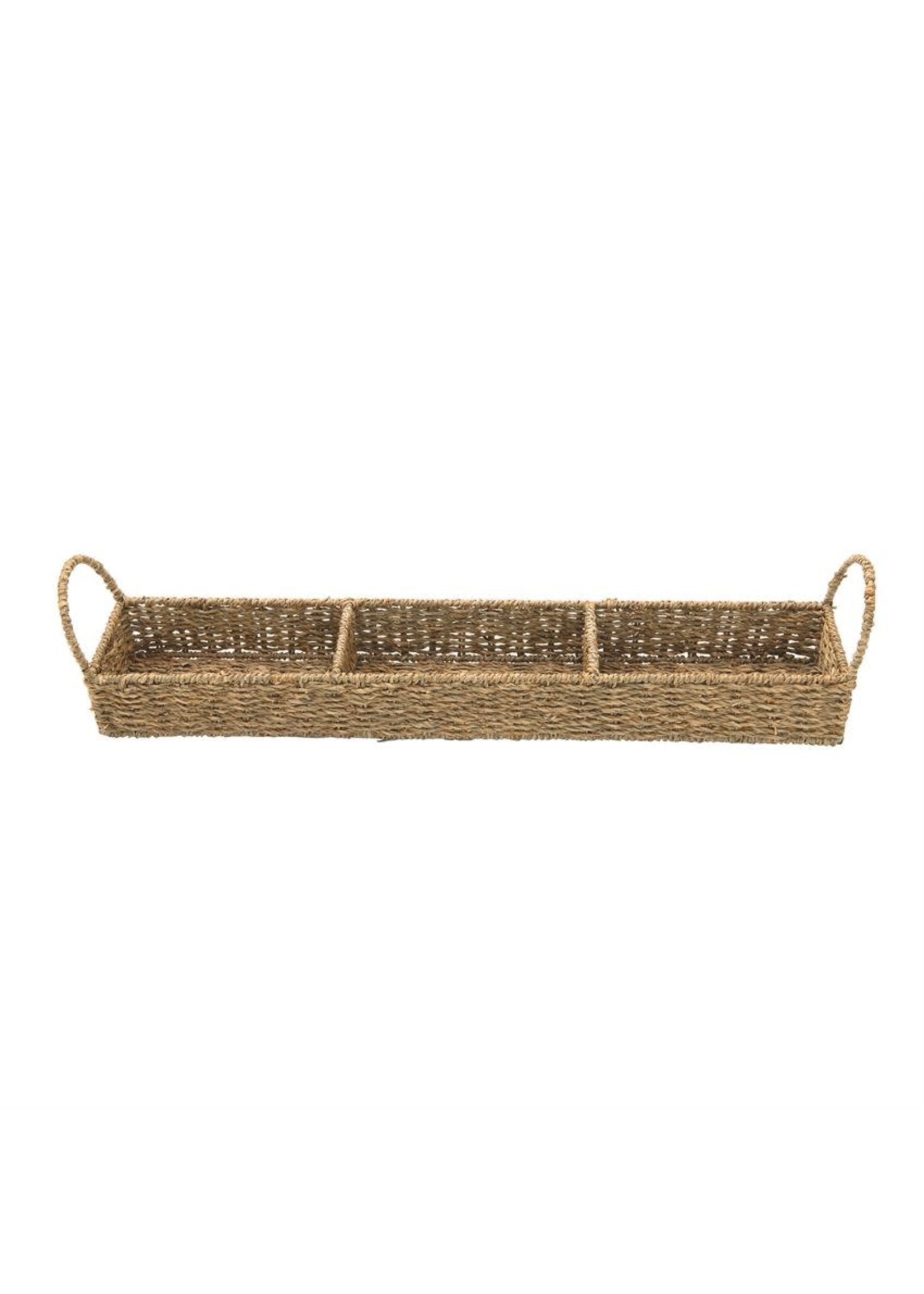SEAGRASS TRAY W/ 3 SECTIONS