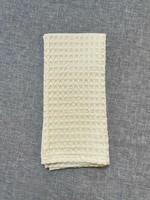 WAFFLE WEAVE BUTTERCUP DISH TOWEL