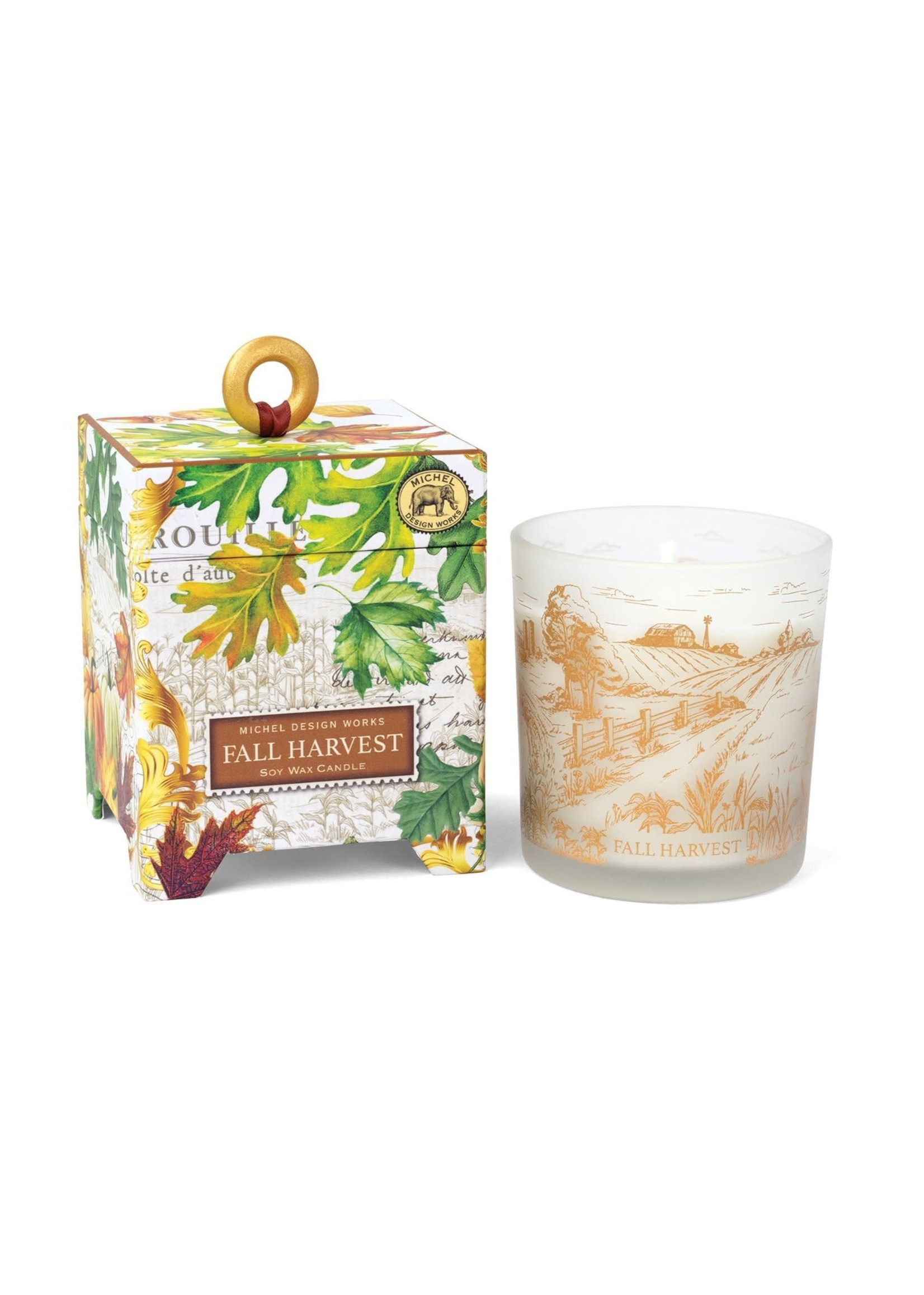 FALL HARVEST6.5OZ SOY CANDLE