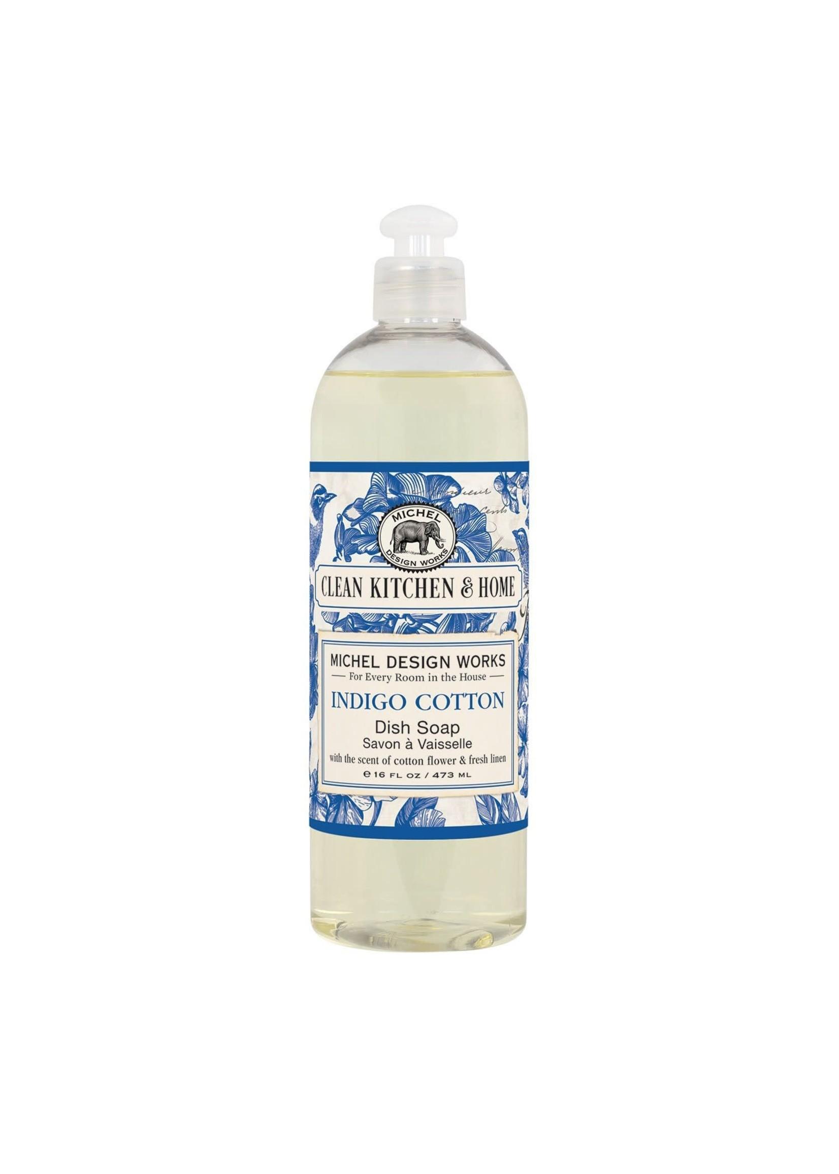 INDIGO COTTON DISH SOAP