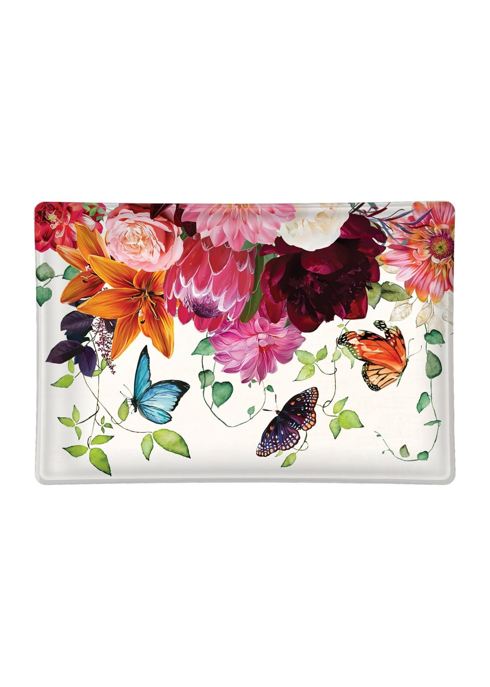 SWEET FLORAL MELODY SOAP DISH