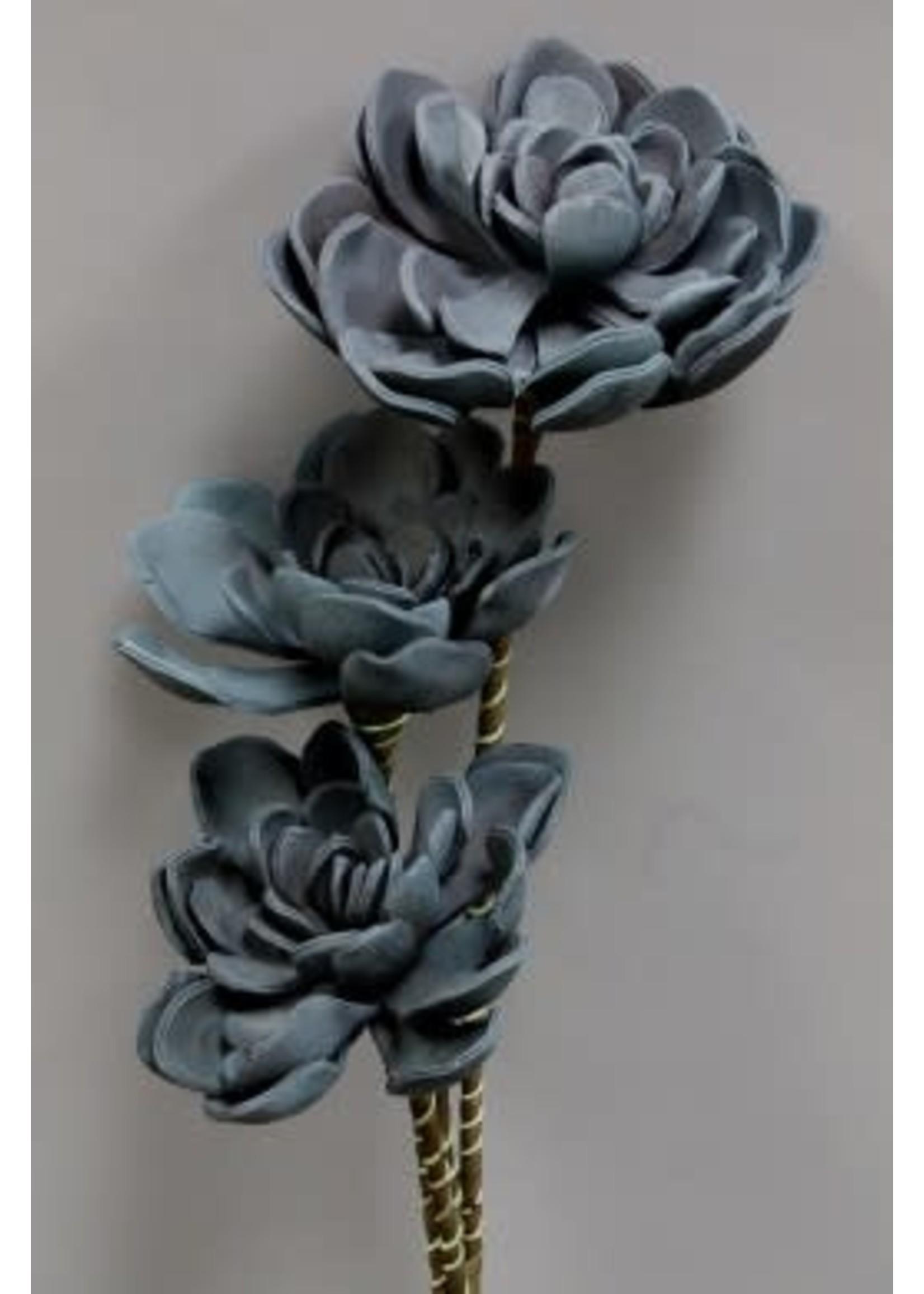 BLUE FOAM FLOWER
