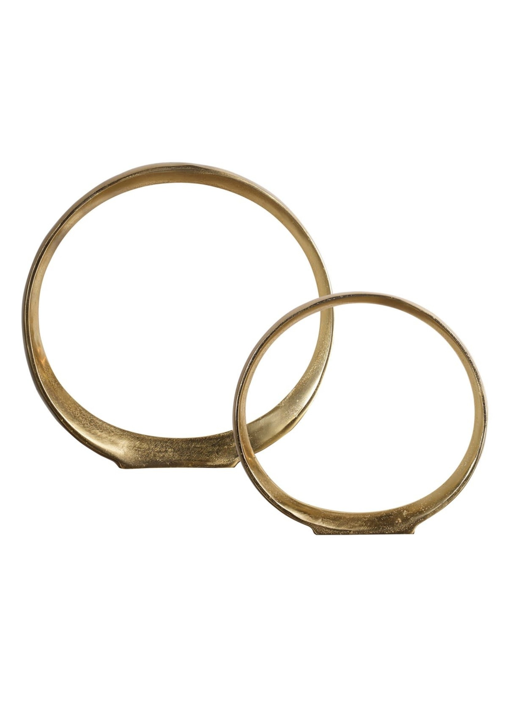 Jimena Ring Scultpture; set of two