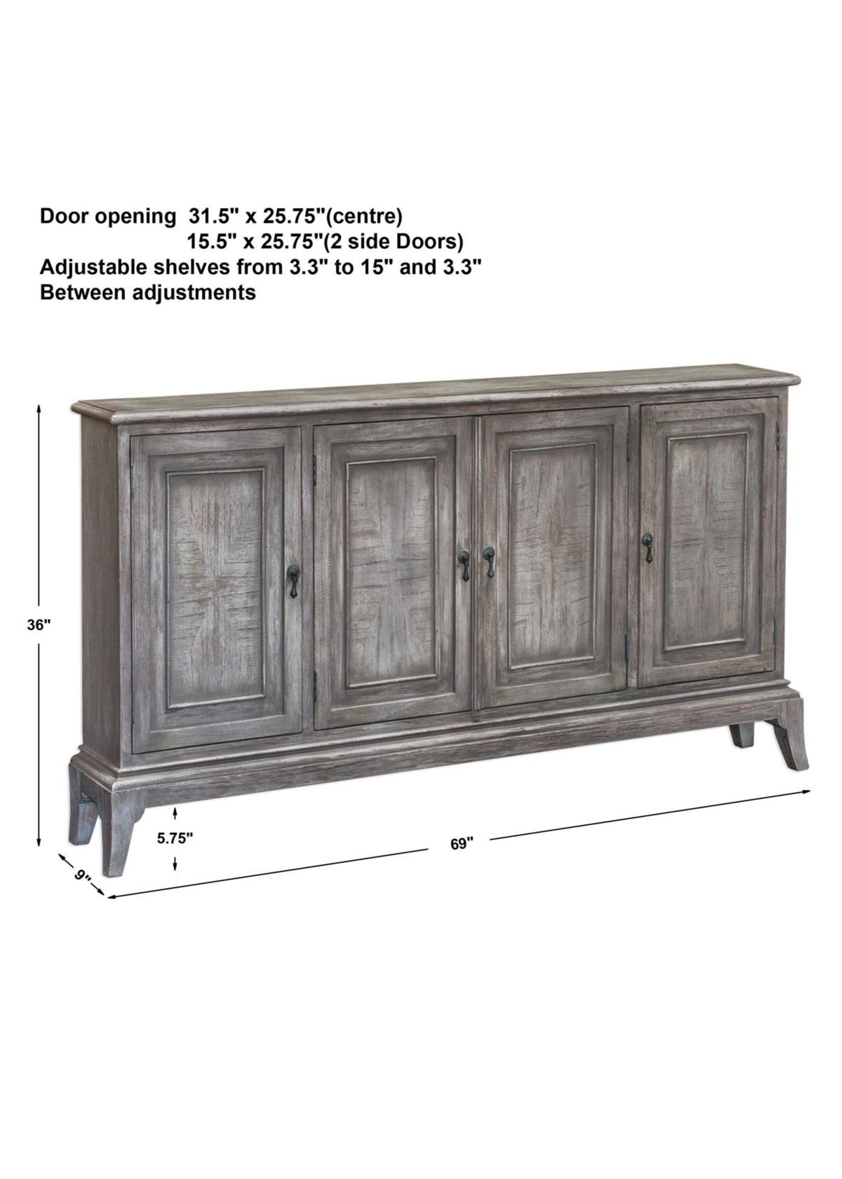 NYLE 4 DOOR CABINET