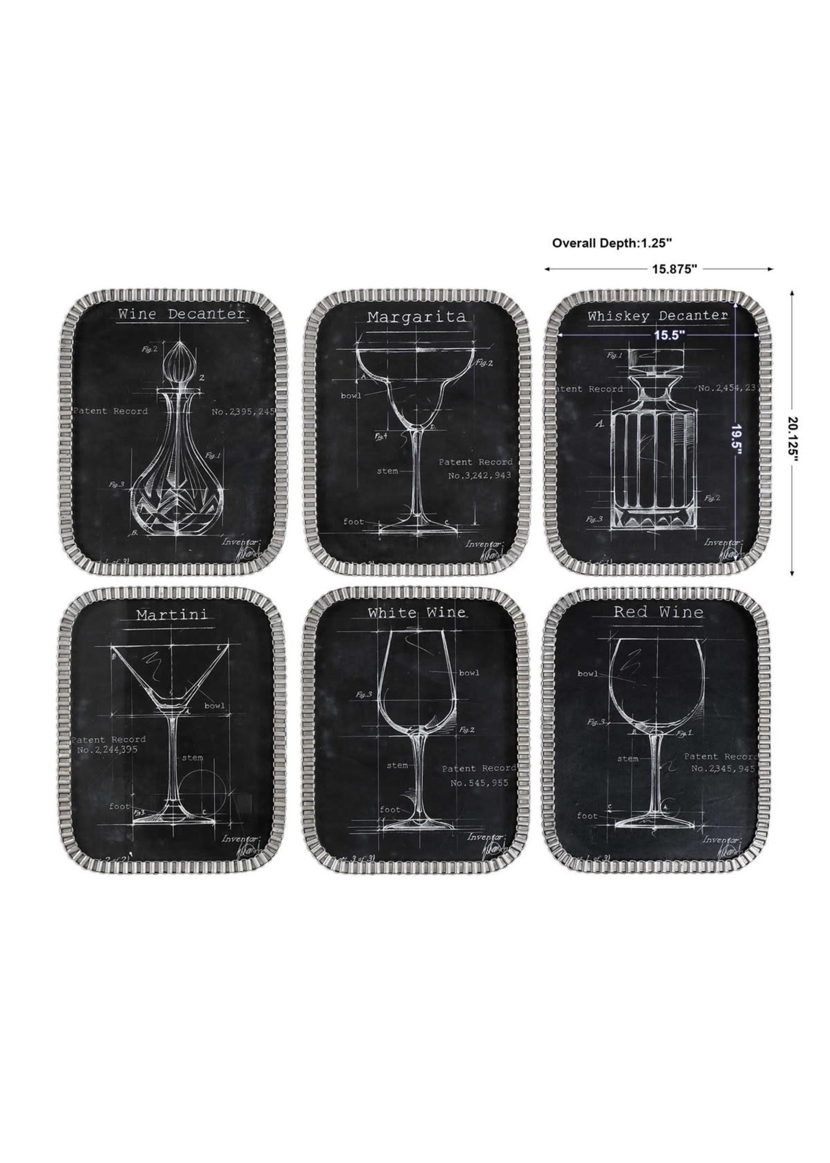Barware Blueprint Set of 6