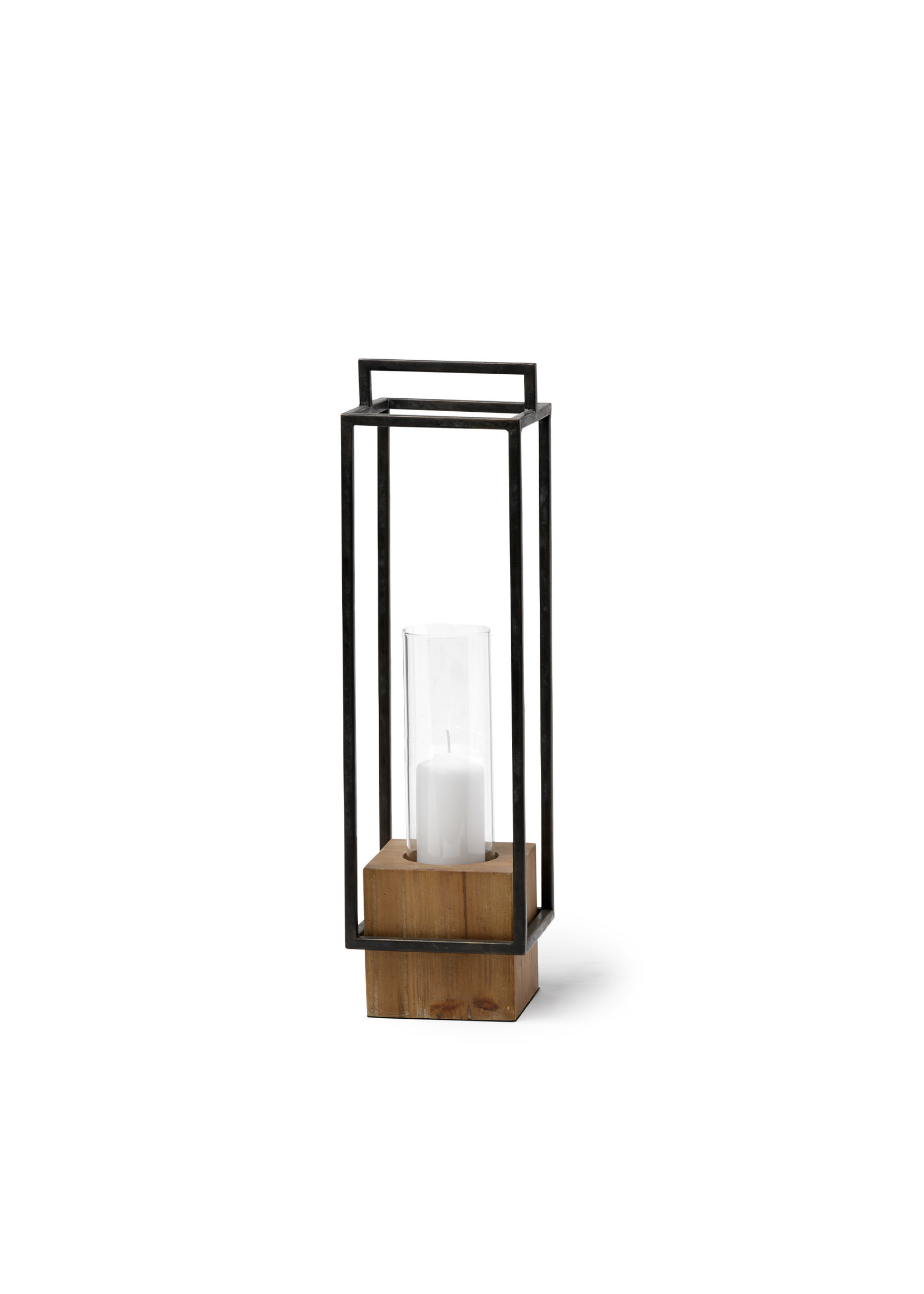 ORIONIS I CAGED CANDLE HOLDER