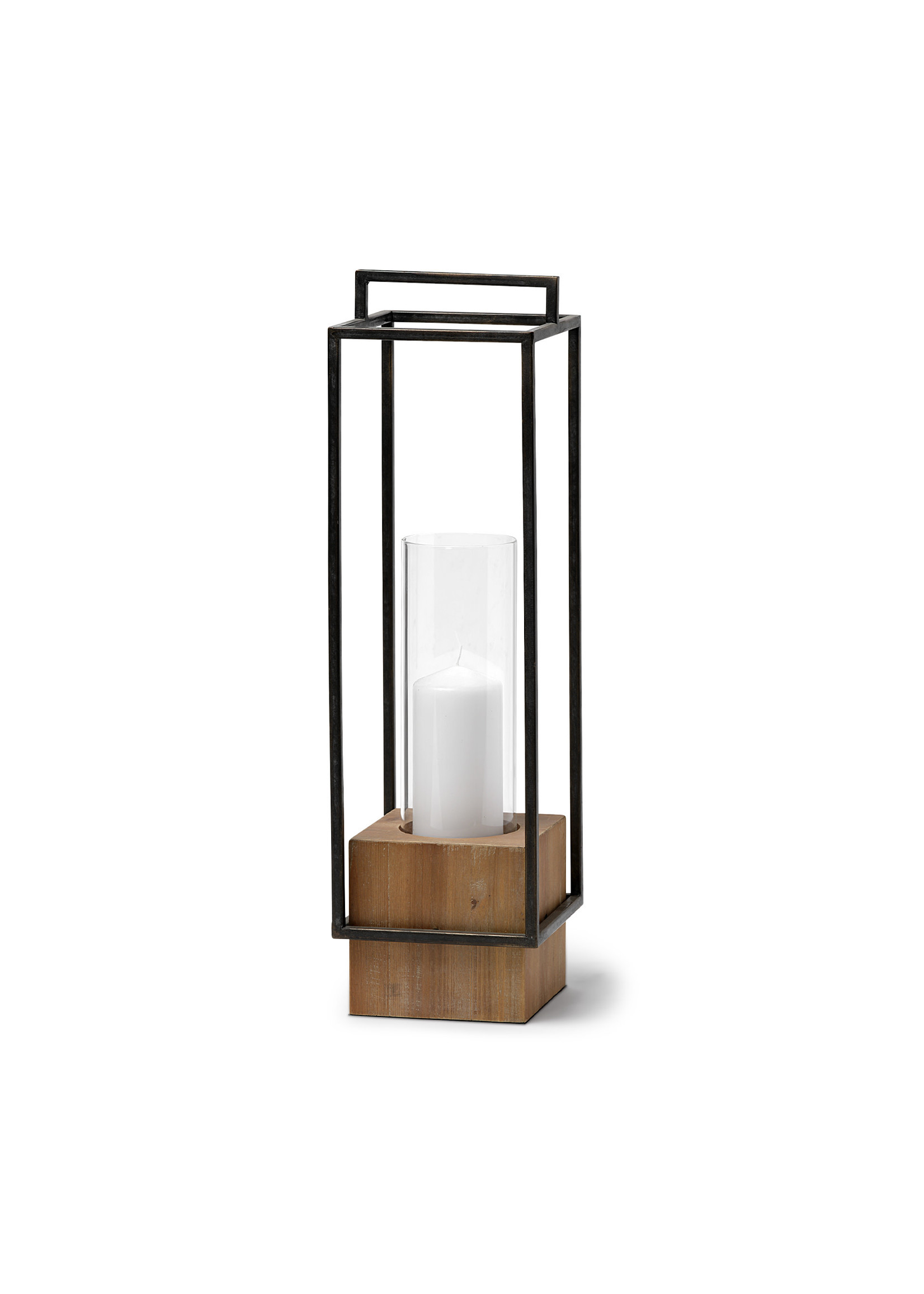 ORIONIS II CAGED CANDLE HOLDER