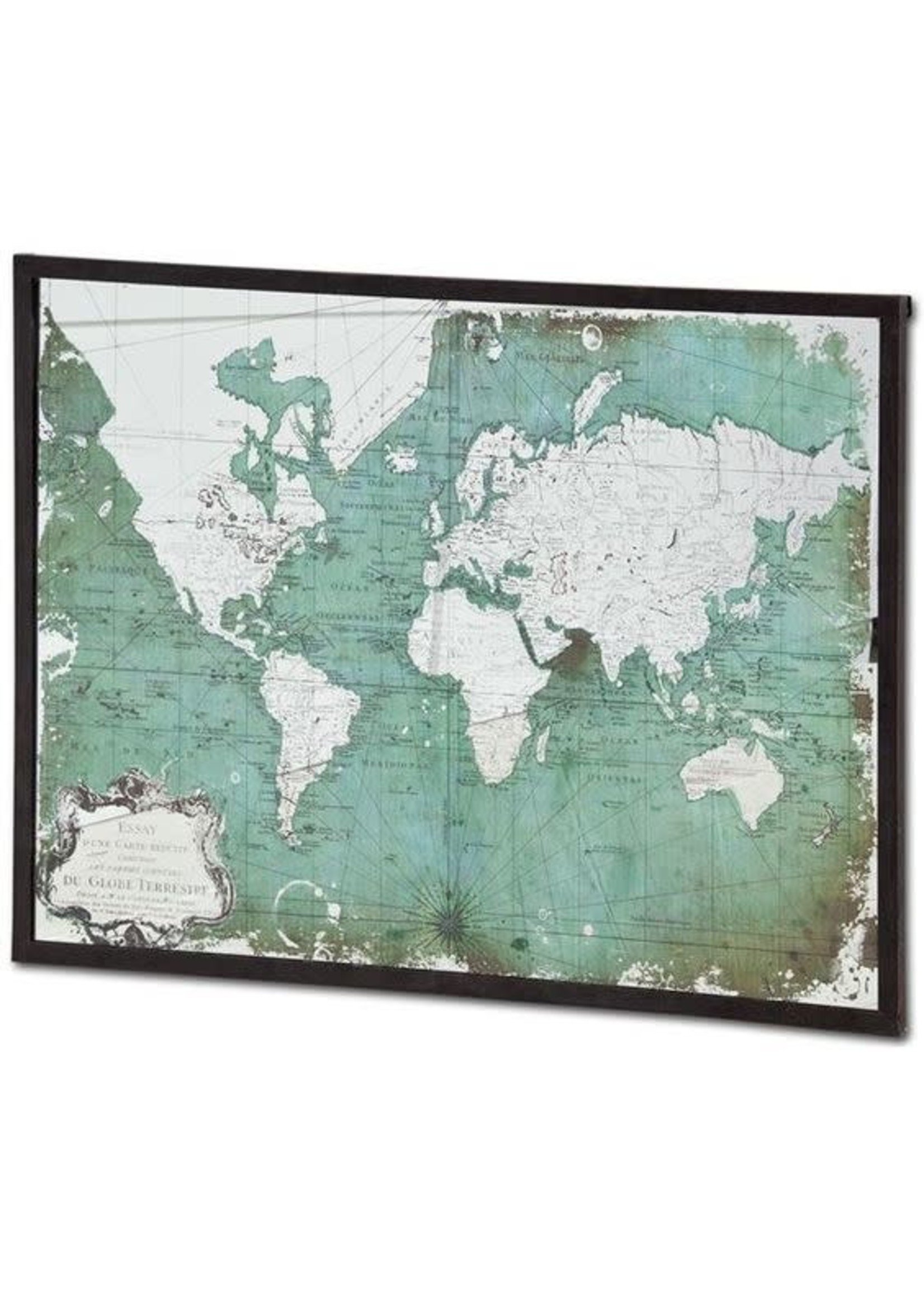 PROVIDENCIA ANTIQUED MAP OF THE WORLD