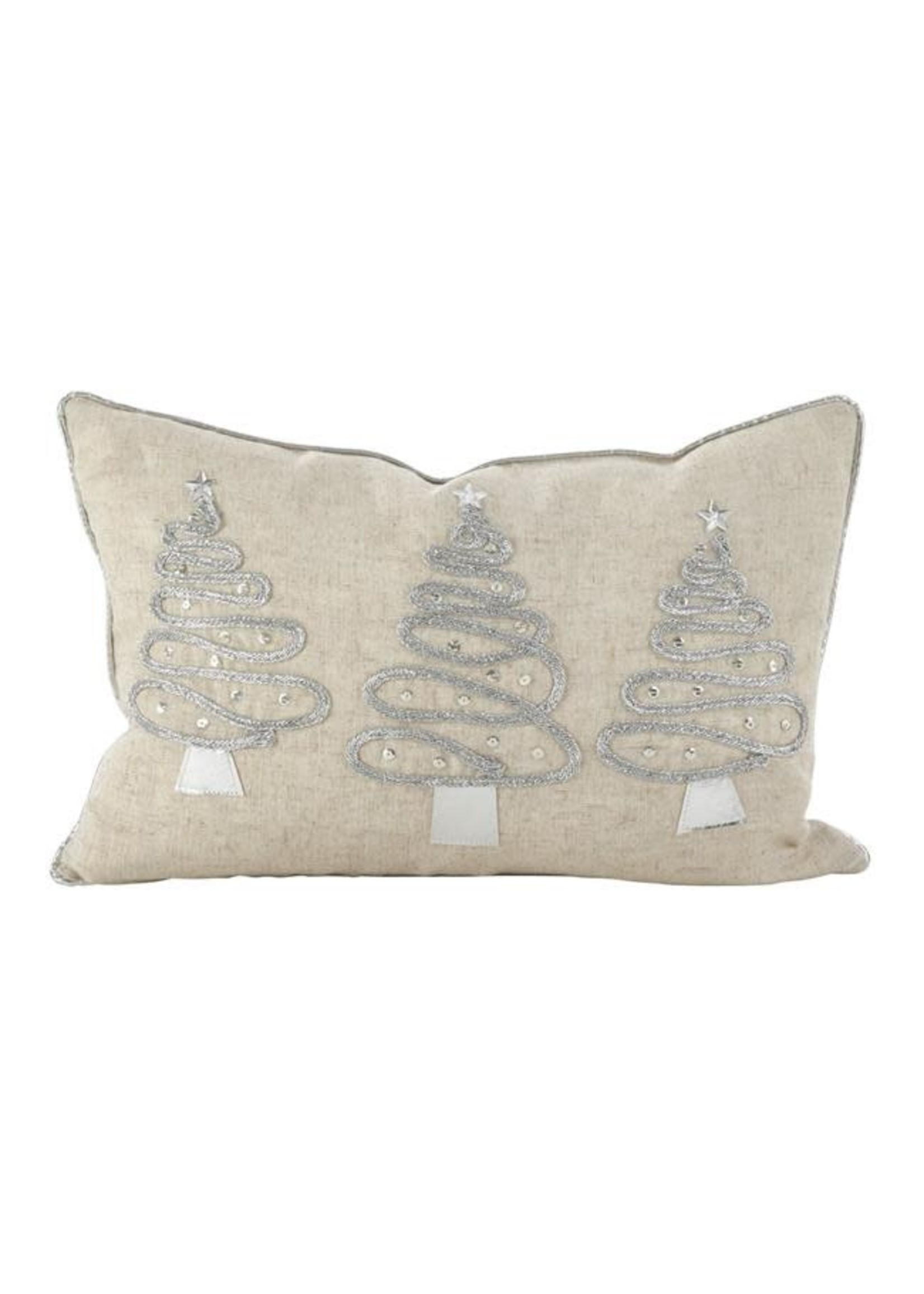 HOLIDAY TREES PILLOW-POLY FILLED