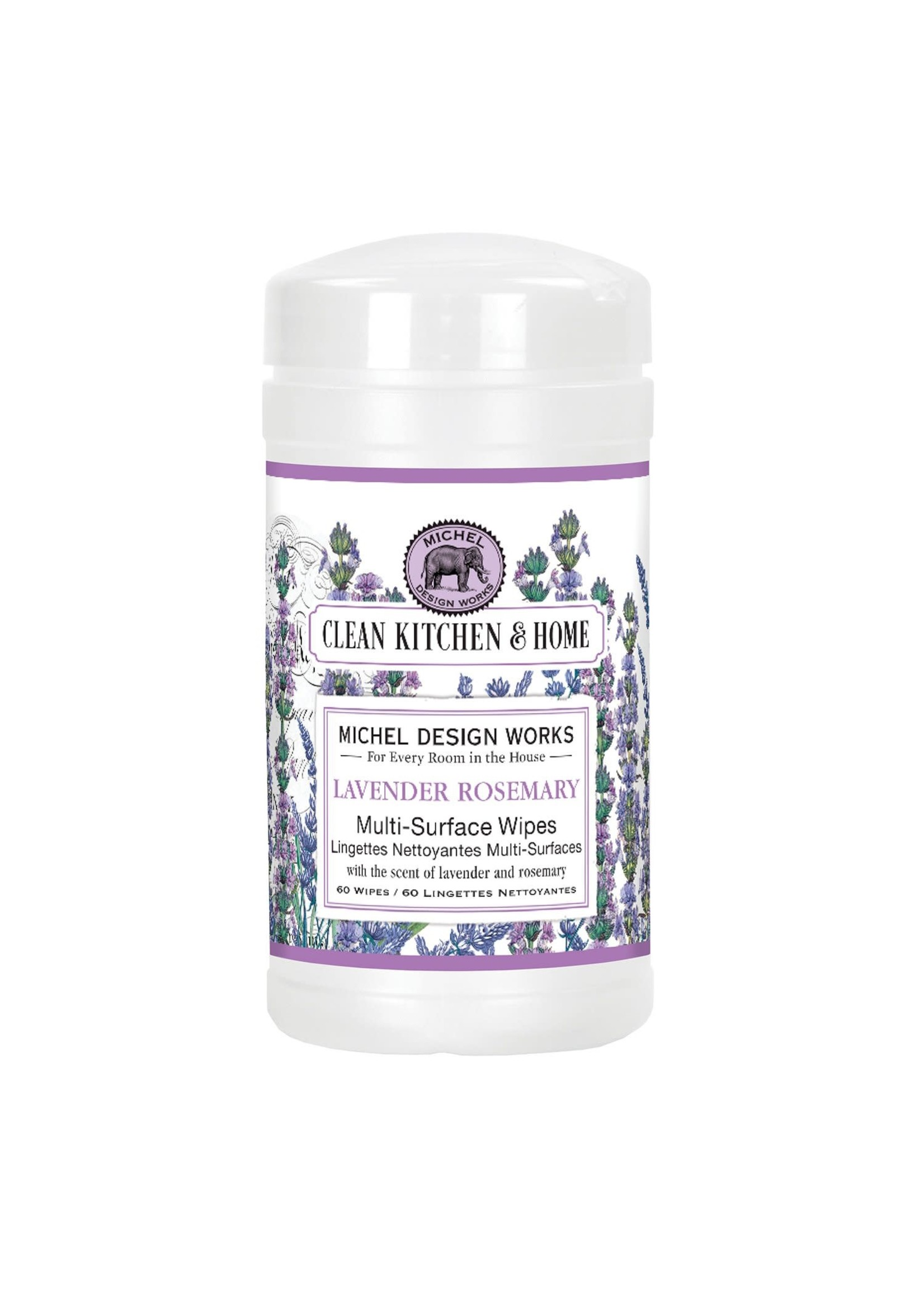 LAVENDER ROSEMARY MULTI SURFACE WIPES