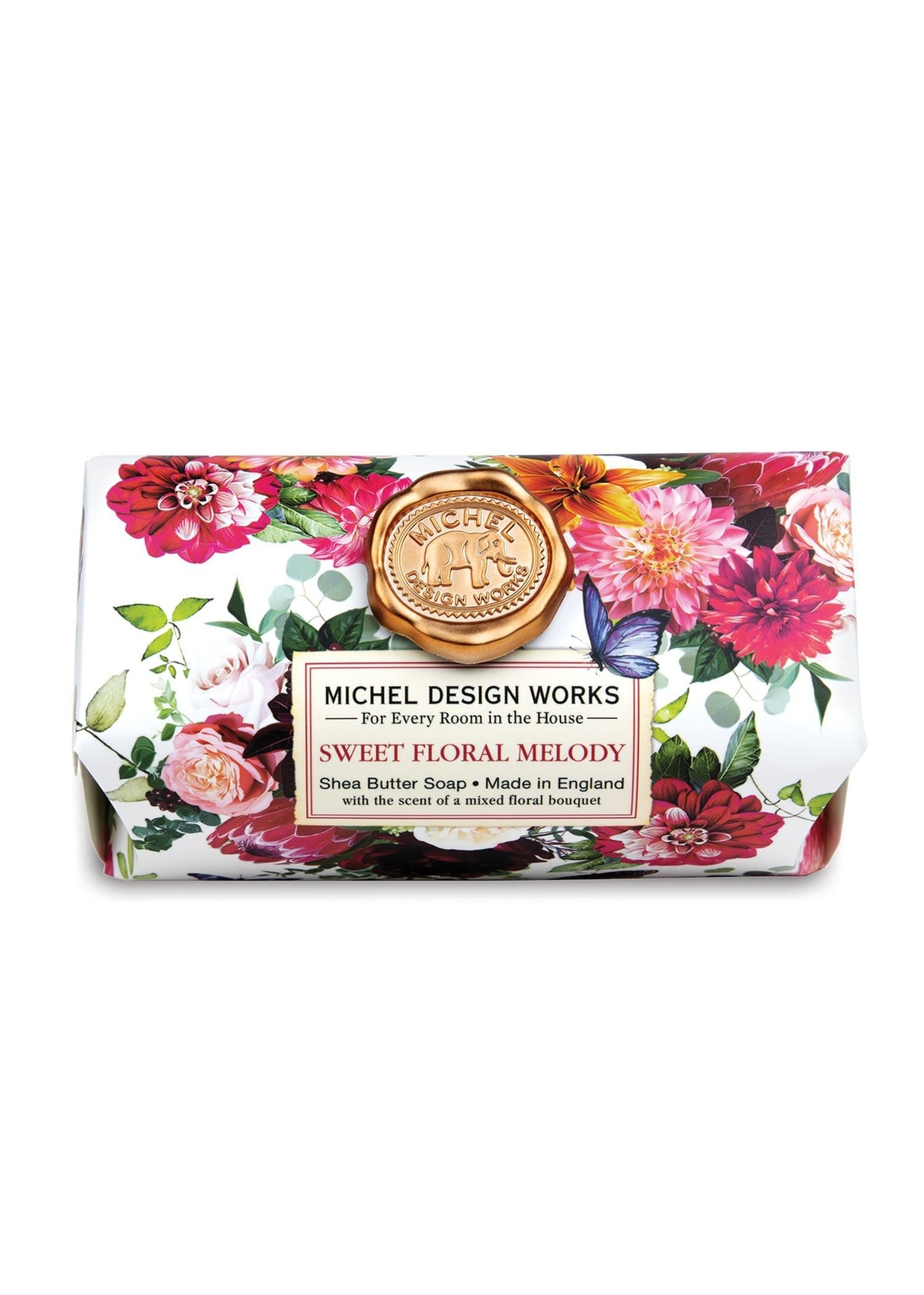 SWEET FLORAL MELODY LARGE BATH SOAP BAR