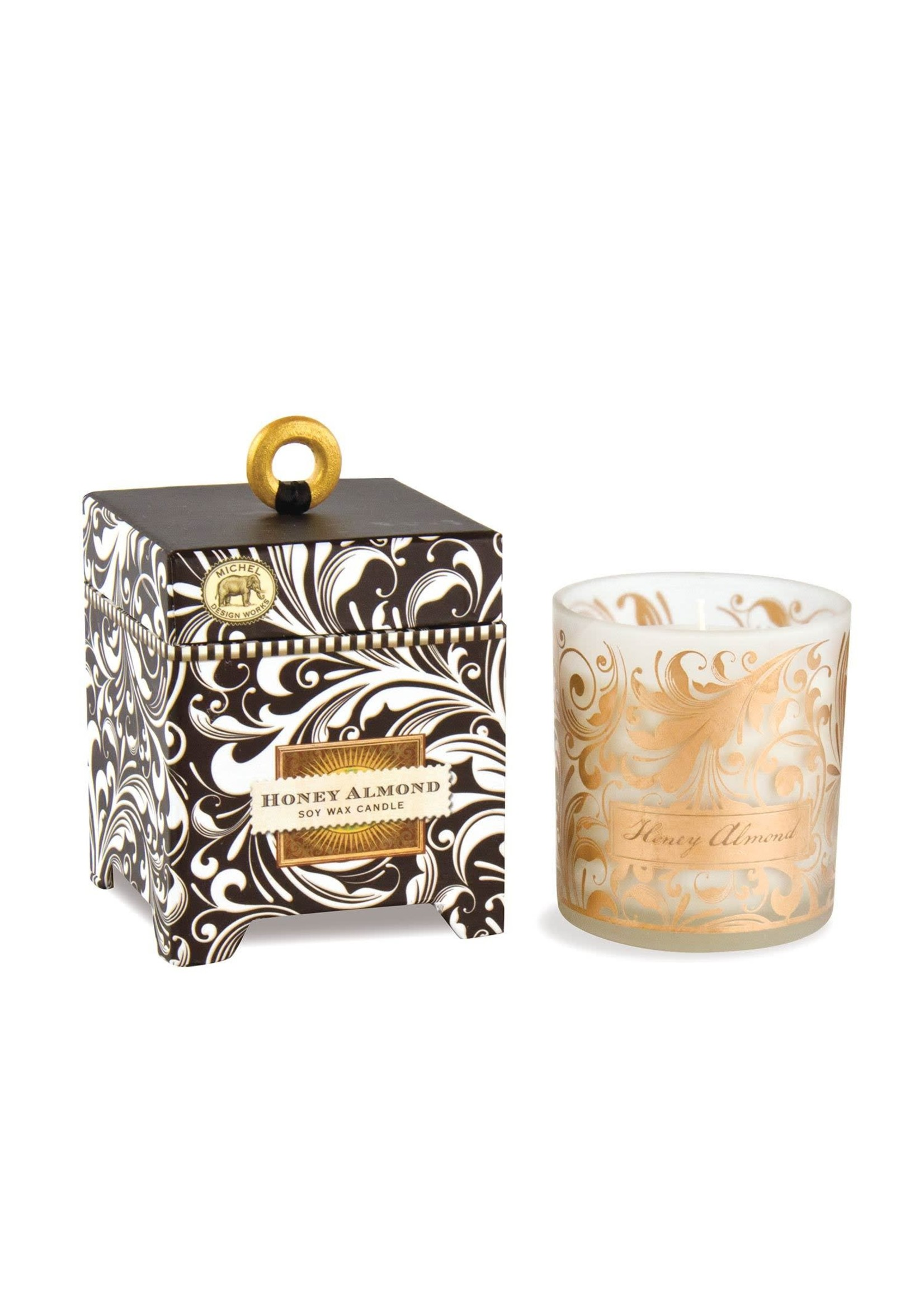 HONEY ALMOND SOY CANDLE
