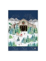 CHRISTMAS SNOW KITCHEN TOWEL