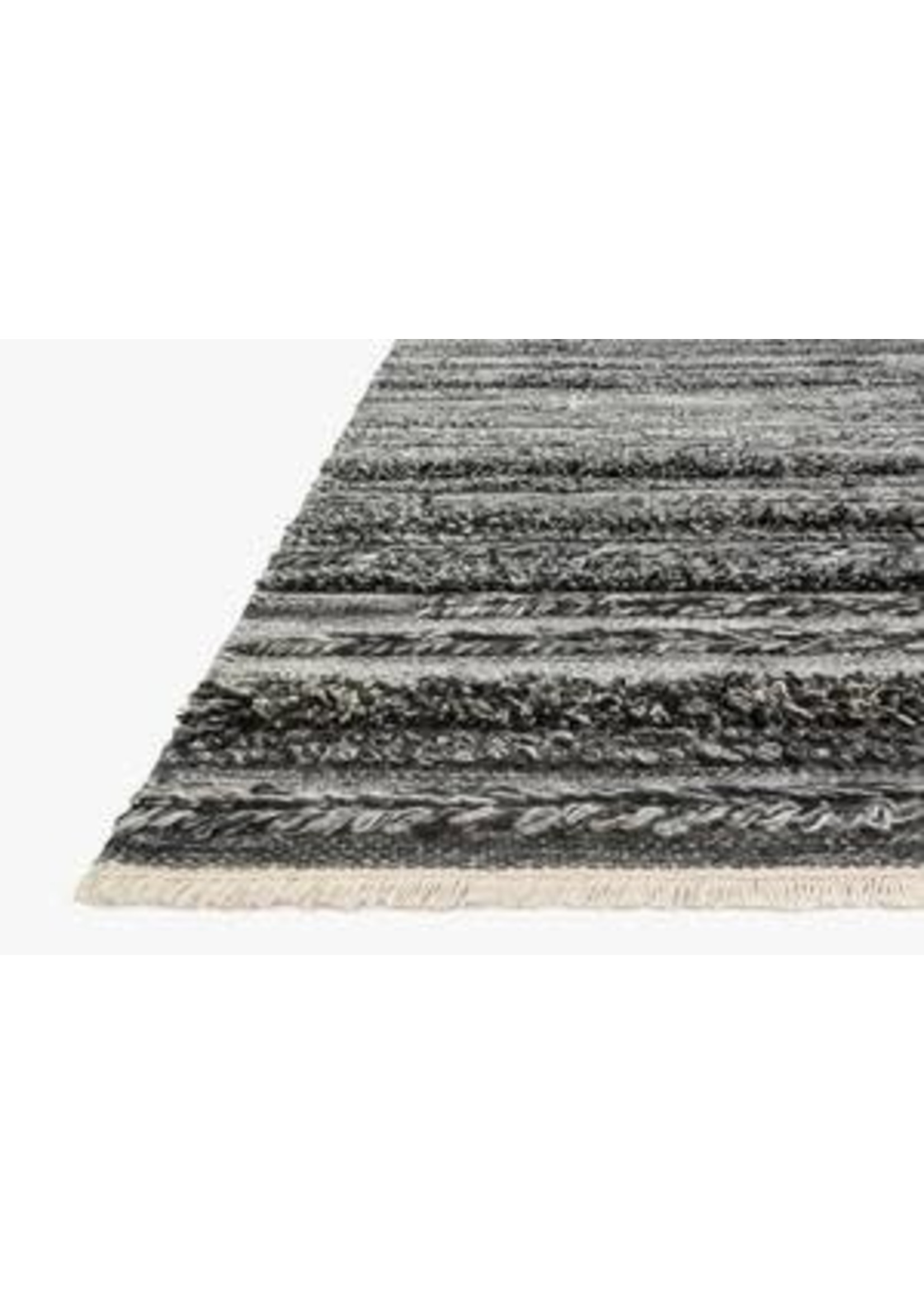 """RODEO RUG-CHARCOAL  5'6"""" x 8'6"""""""