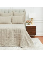ODINE QUEEN QUILT - NATURAL