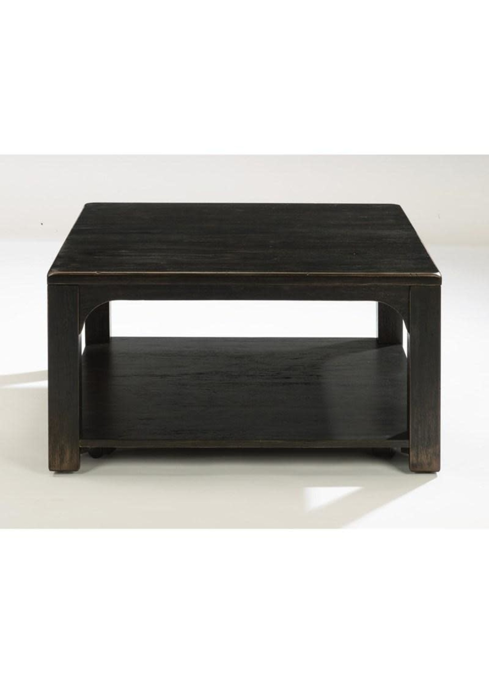 HOMESTEAD SQUARE COCKTAIL TABLE W/CASTERS