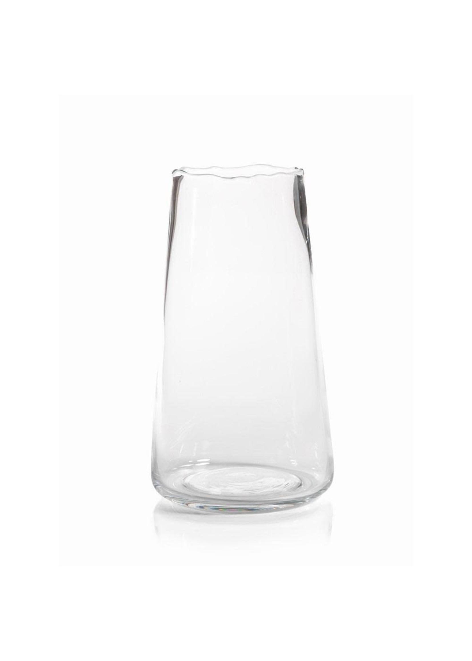 Manarola Glass Vase- Clear