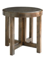 COMPASS BROWN LAMP TABLE