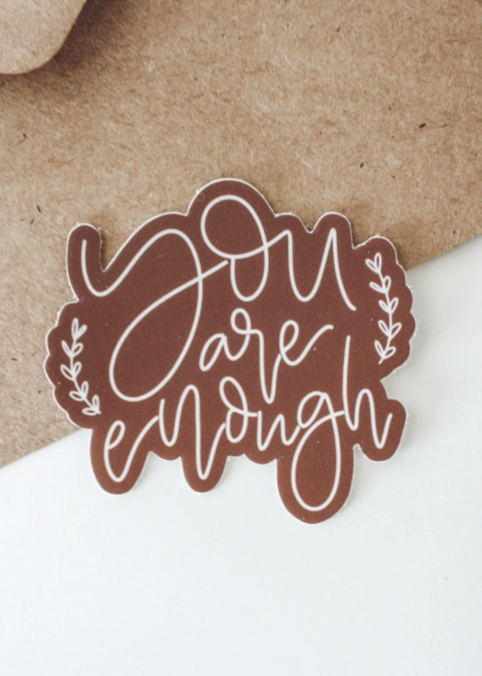 Jess Paper Co You Are Enough Sticker