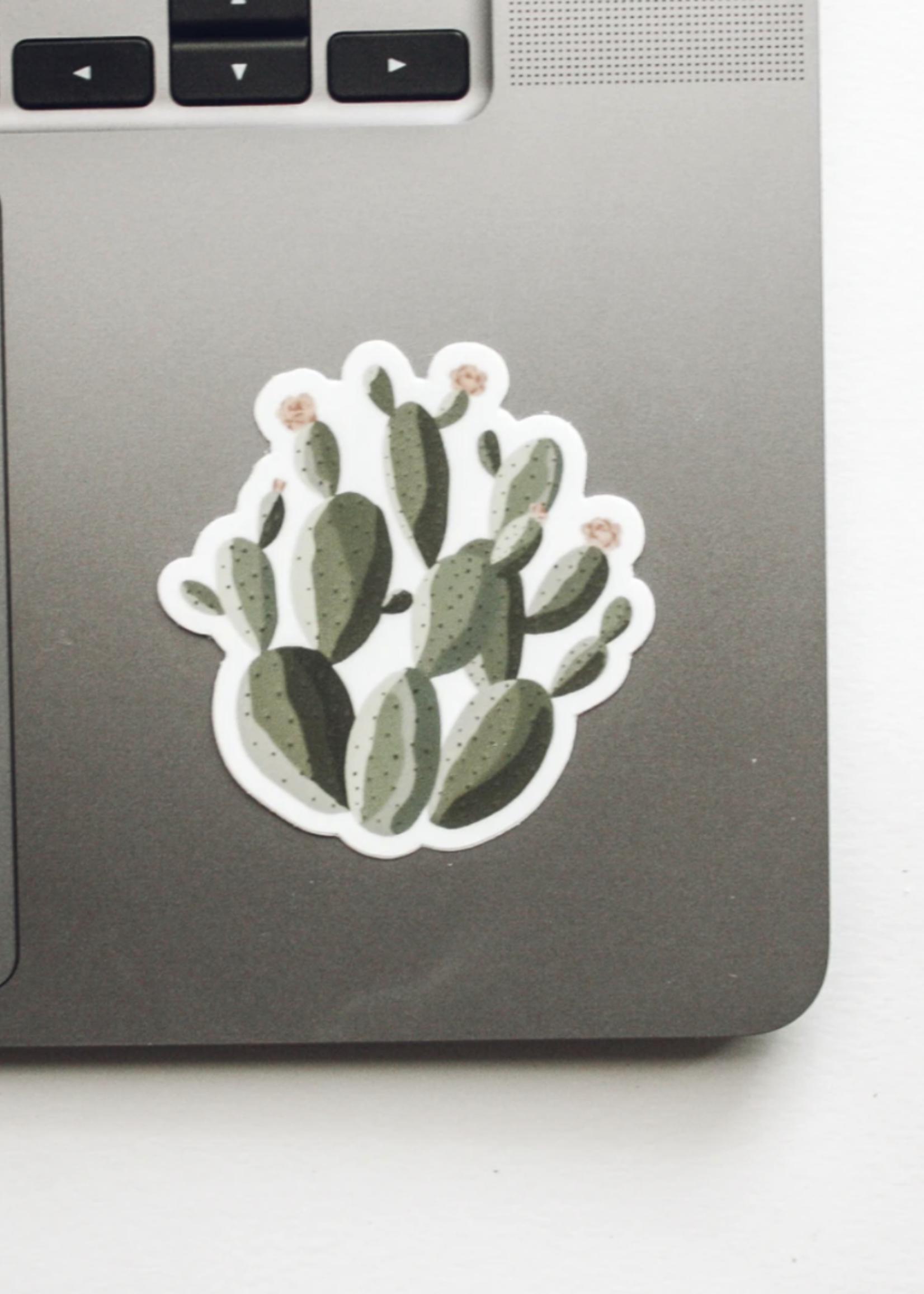 Jess Paper Co Prickly Pear Cactus Sticker