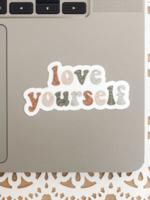 Jess Paper Co Love Yourself Sticker