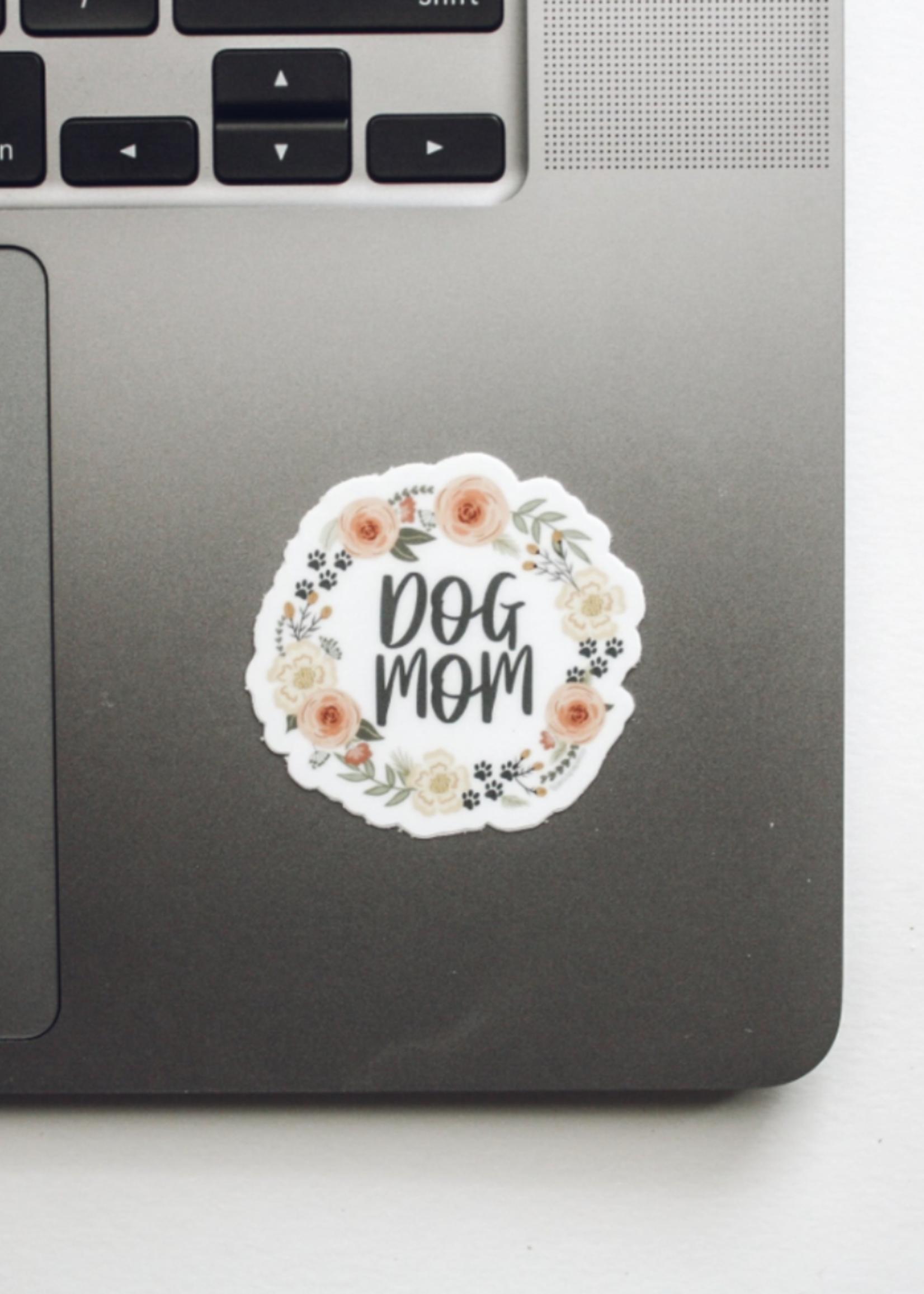 Jess Paper Co Dog Mom Sticker