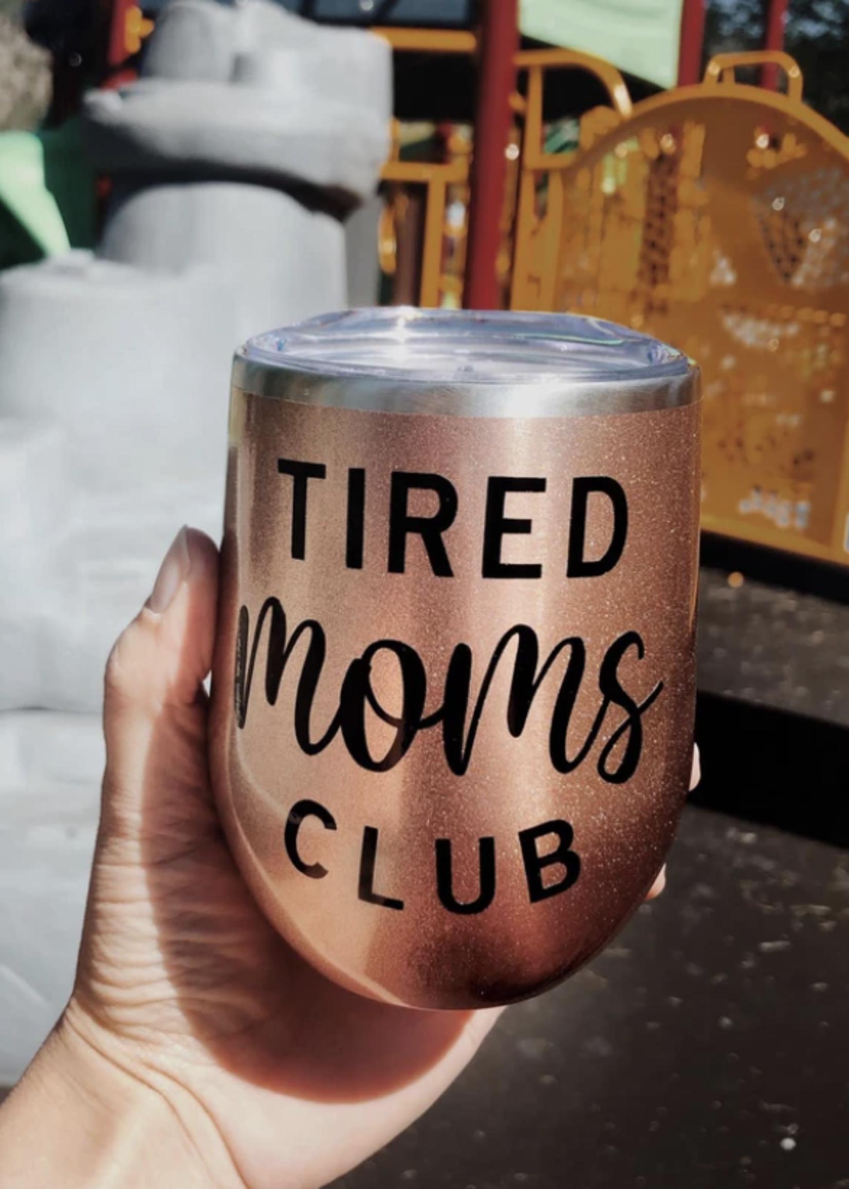 Jemdesigns Stemless Tumbler | Tired Moms Club