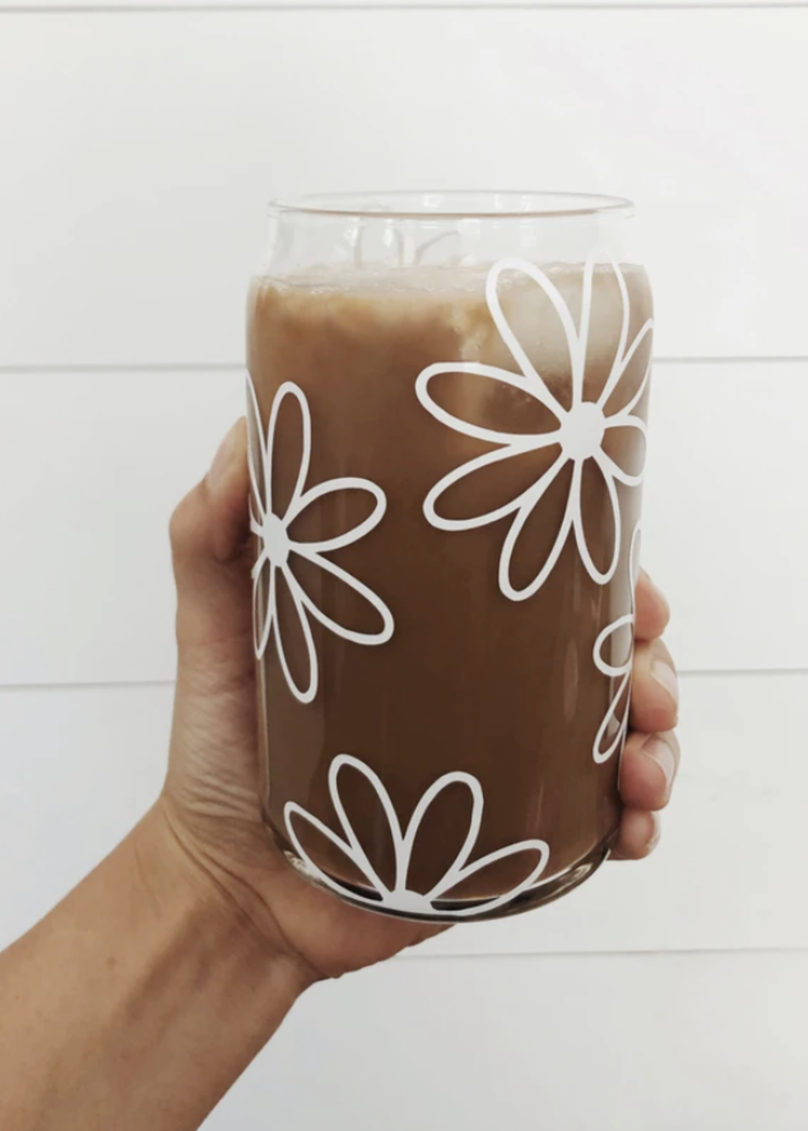 Jemdesigns Daisy Beer Glass