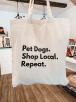 Modern Companion Pet Dogs Shop Local Tote