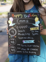 Love Designs Milestone Birthday Sign