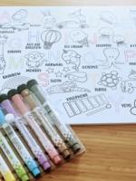 Love Designs Colour & Doodle Whiteboard Set